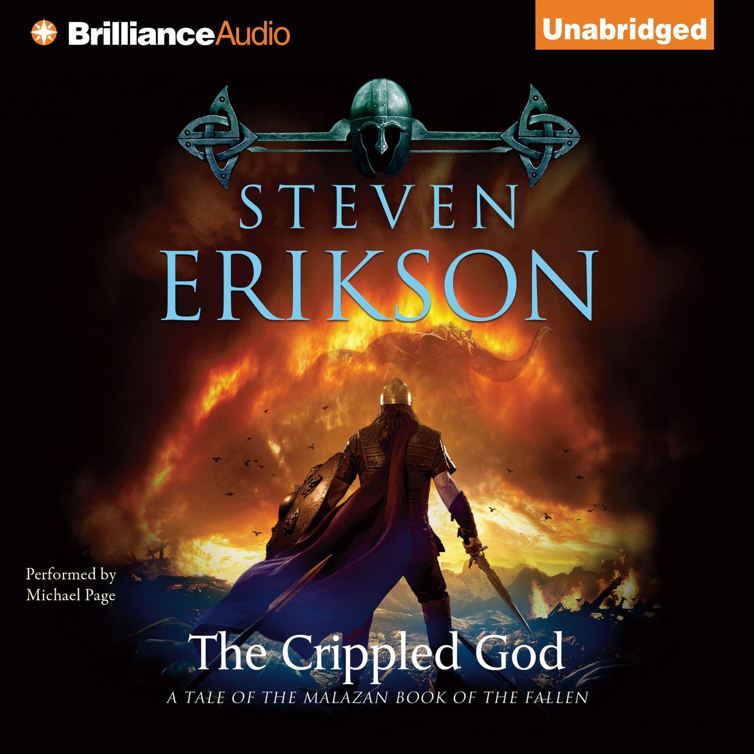 The Crippled God Audiobook, by Steven Erikson