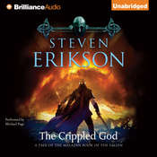 The Crippled God Audiobook, by Steven Erikson