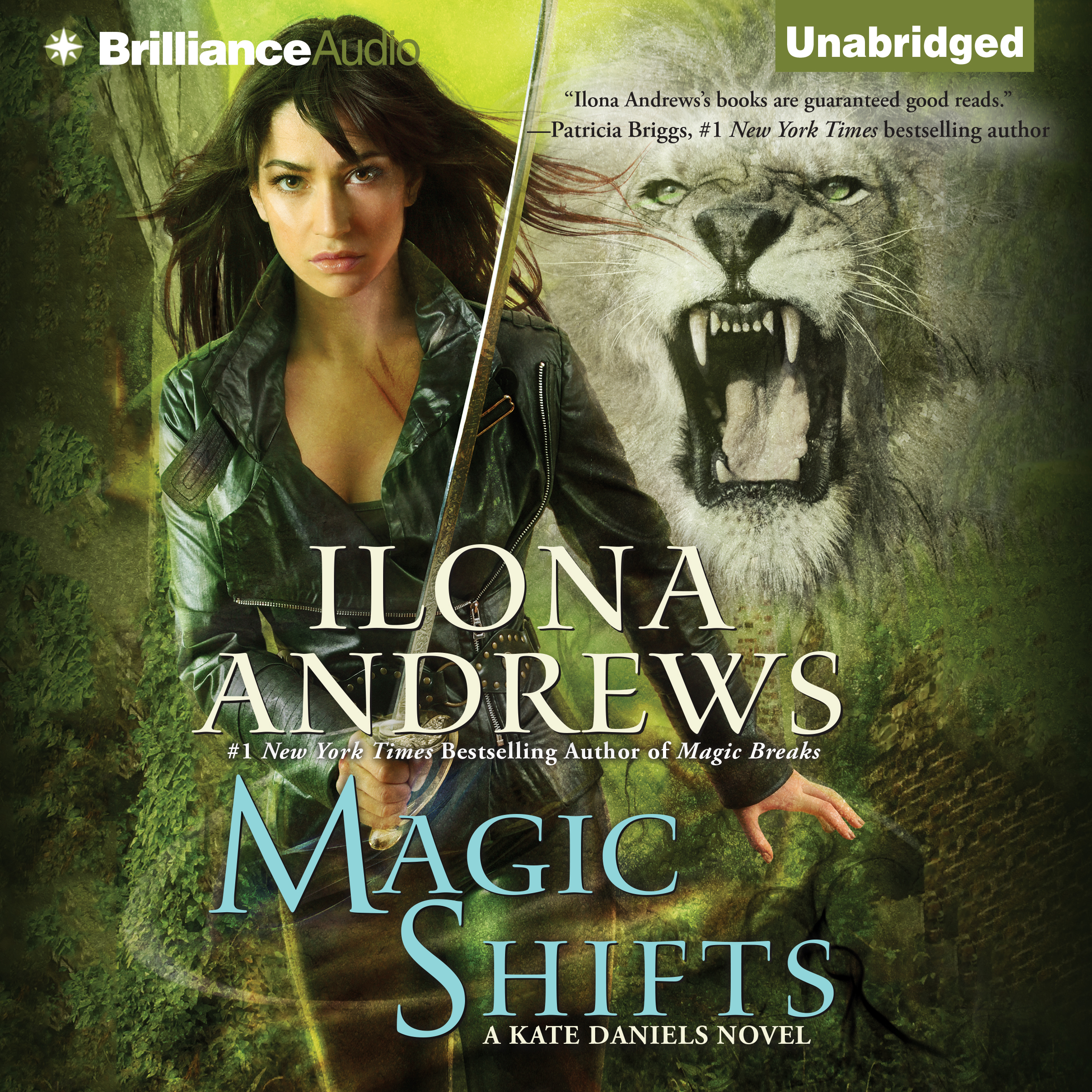 Printable Magic Shifts Audiobook Cover Art