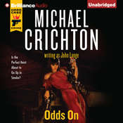 Odds On Audiobook, by Michael Crichton, John Lange