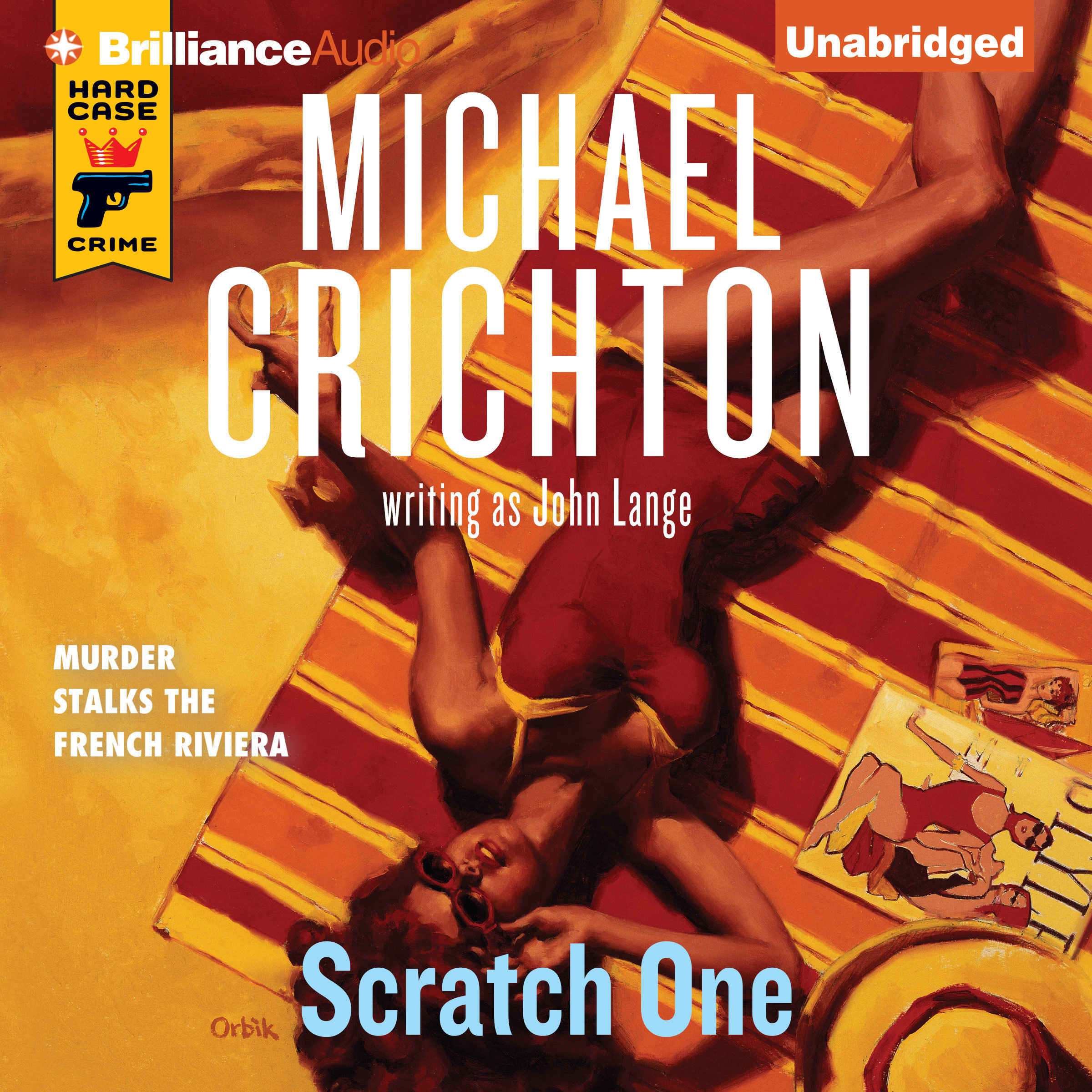 Printable Scratch One Audiobook Cover Art