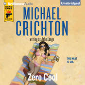 Zero Cool Audiobook, by Michael Crichton, John Lange