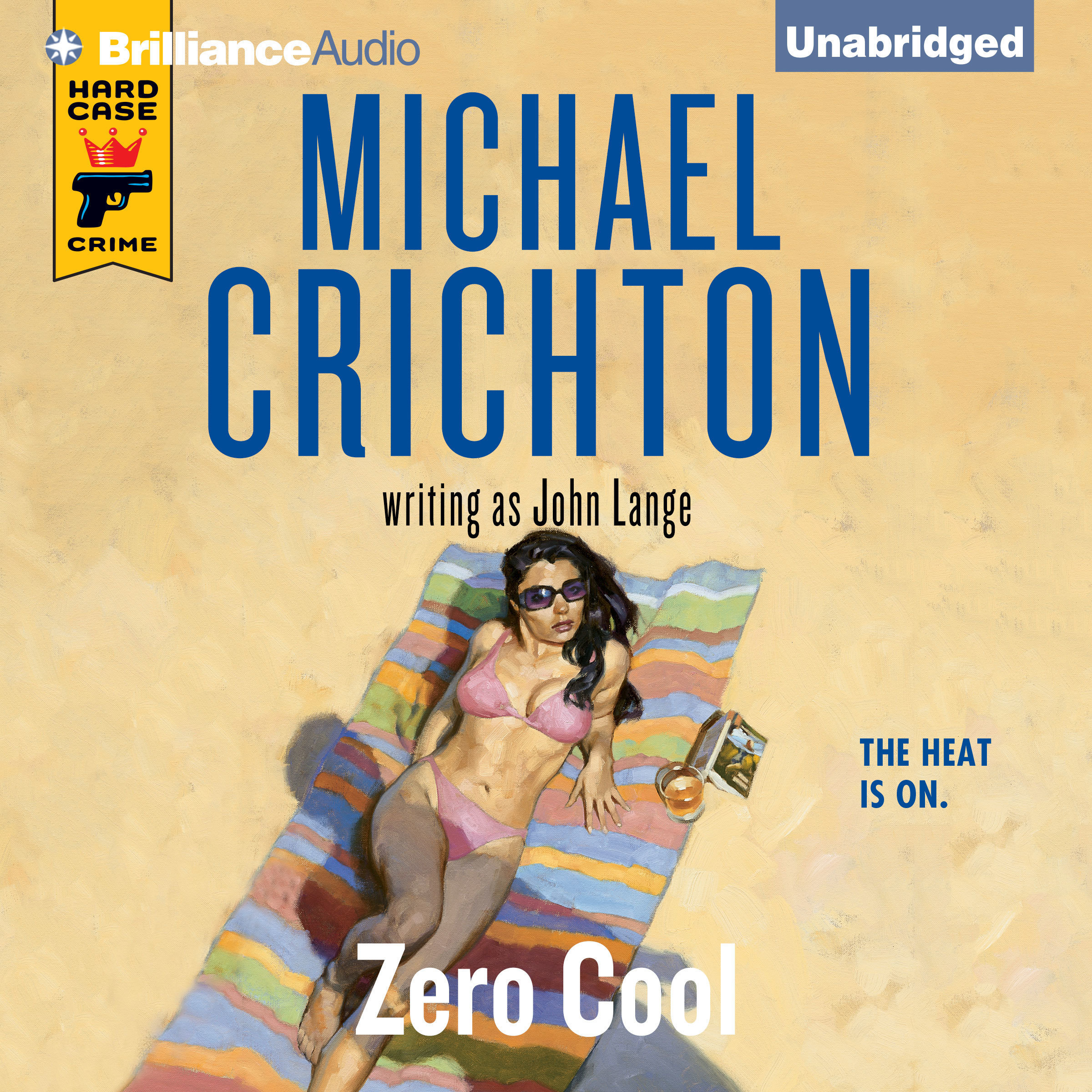 Printable Zero Cool Audiobook Cover Art