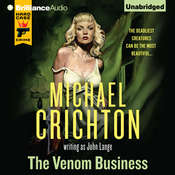 The Venom Business Audiobook, by Michael Crichton, John Lange