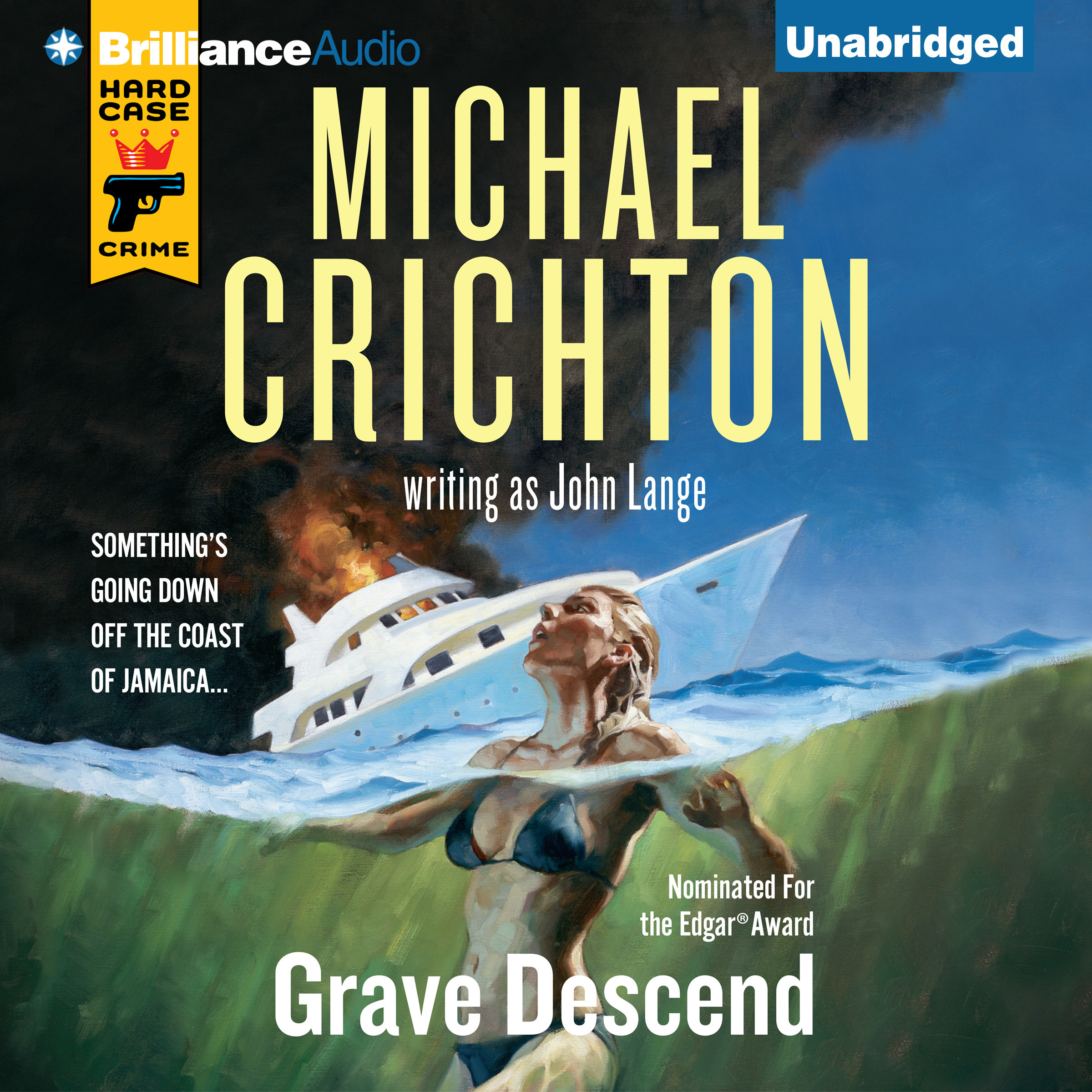 Printable Grave Descend Audiobook Cover Art