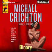 Binary, by Michael Crichton, John Lange