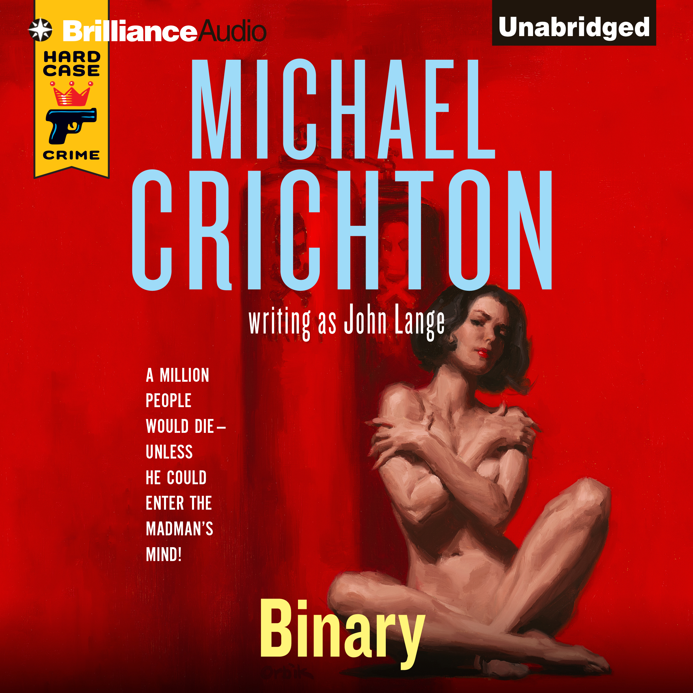 Printable Binary Audiobook Cover Art