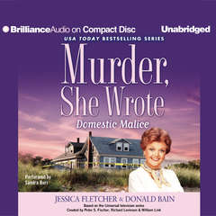 Domestic Malice Audiobook, by Jessica Fletcher, Donald Bain