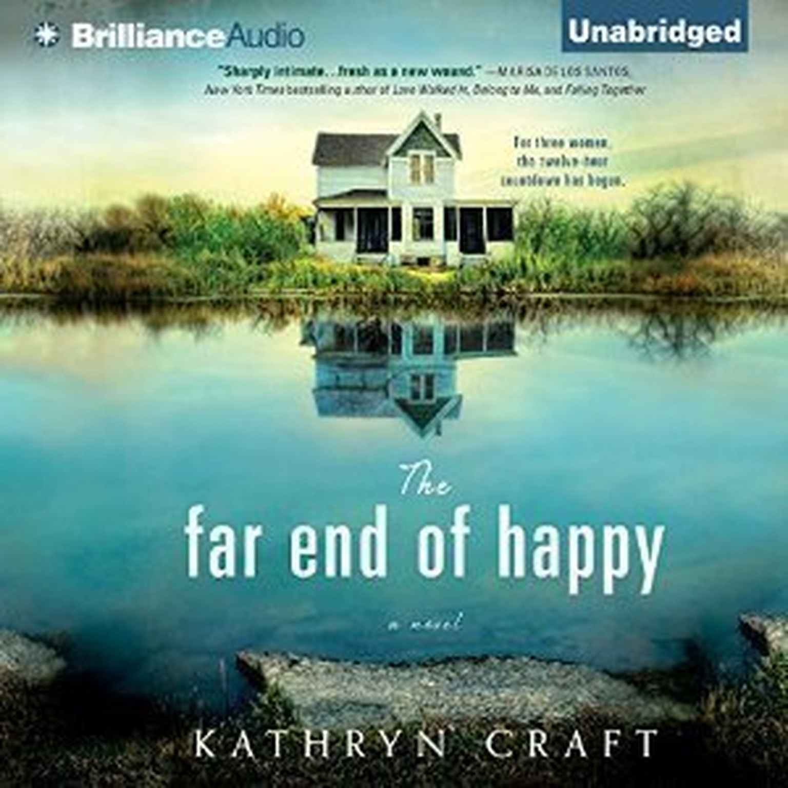 Printable The Far End of Happy Audiobook Cover Art