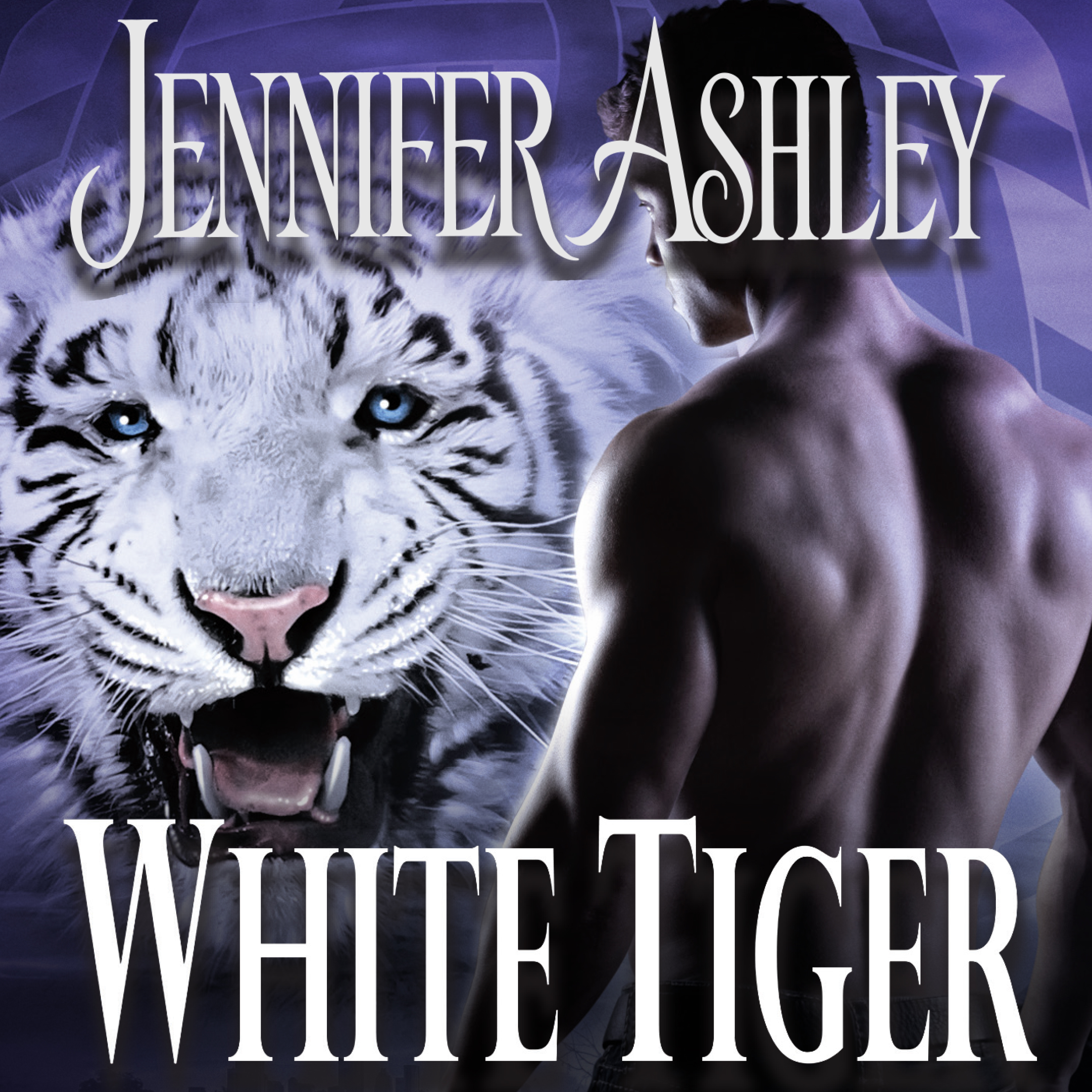 Printable White Tiger Audiobook Cover Art
