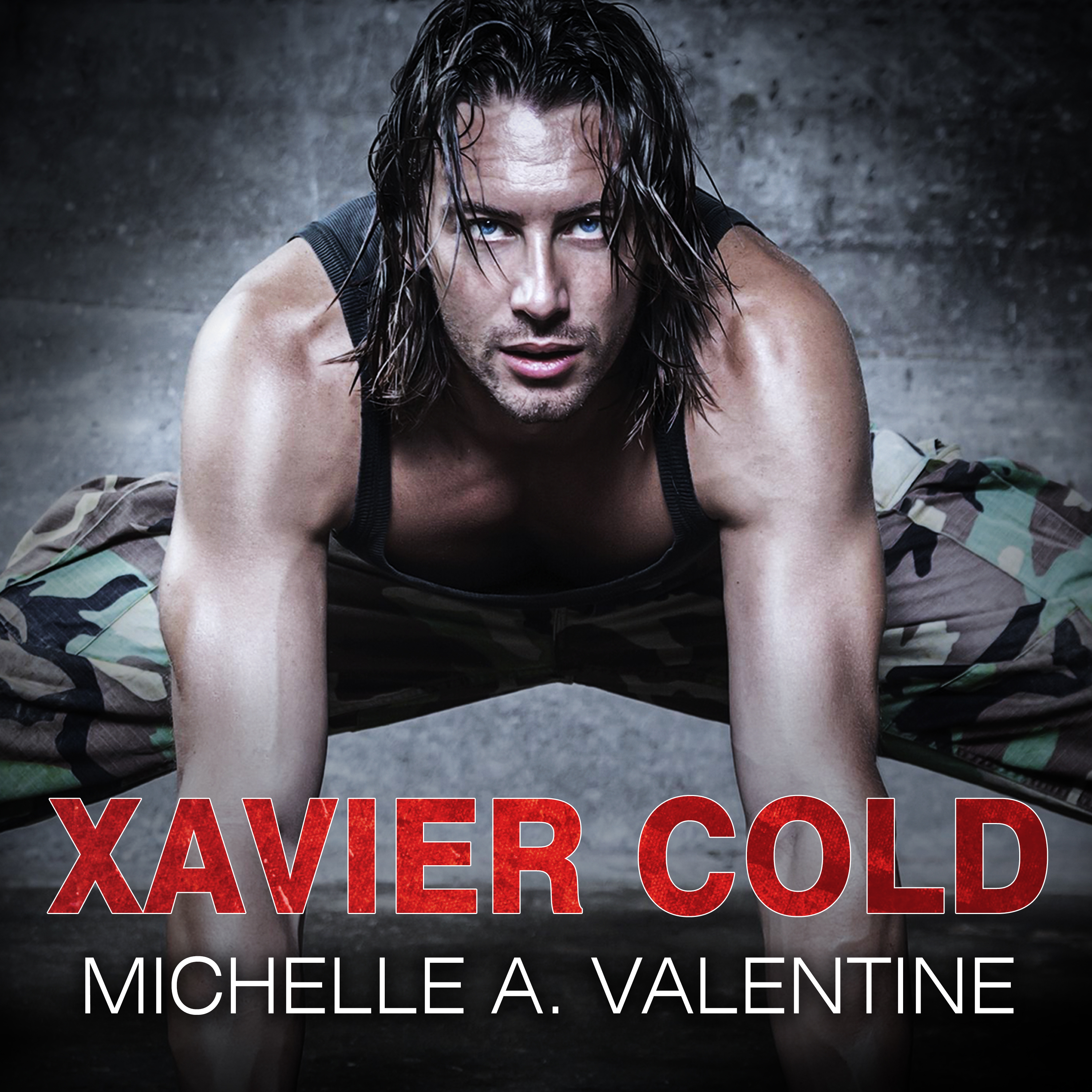 Printable Xavier Cold Audiobook Cover Art