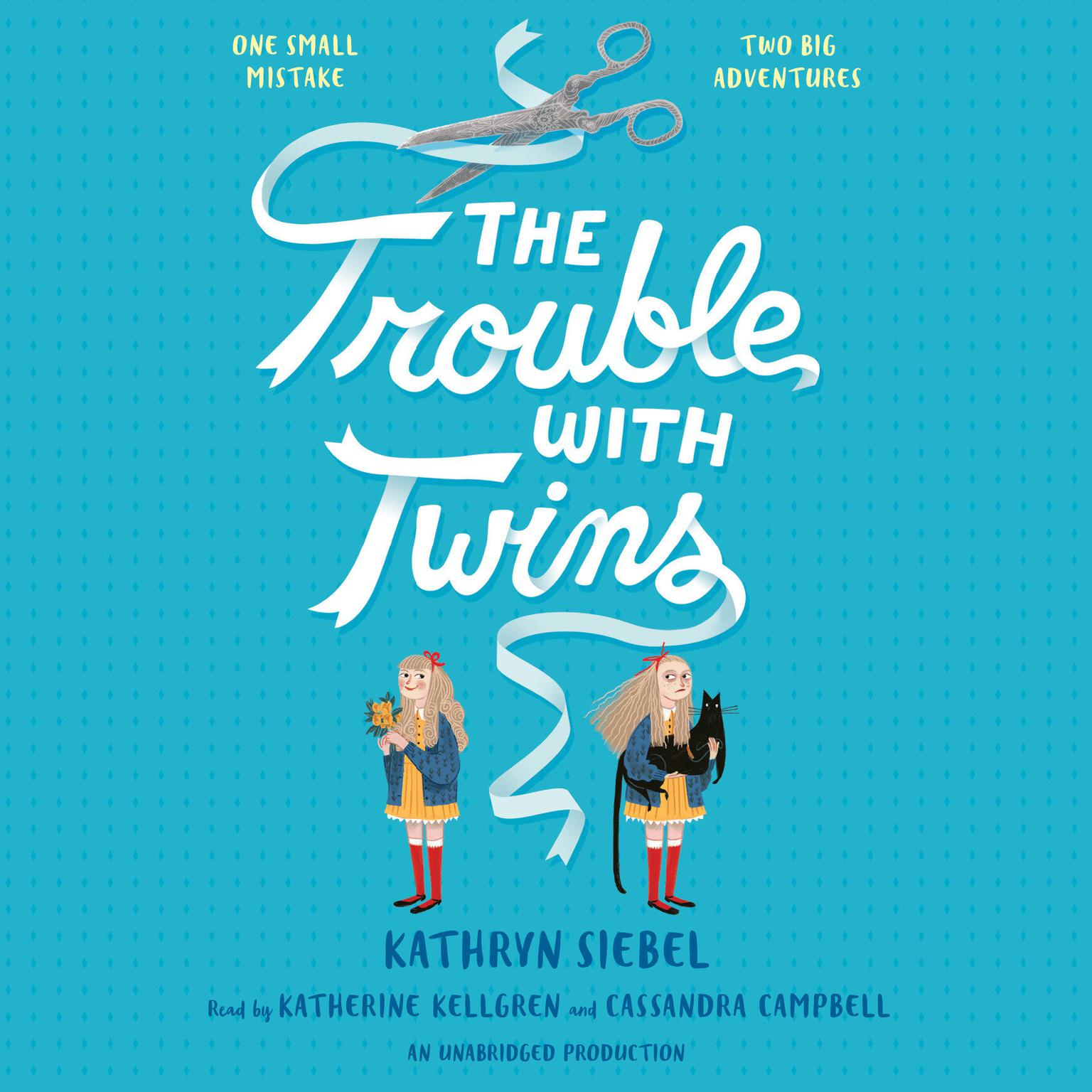 Printable The Trouble with Twins Audiobook Cover Art