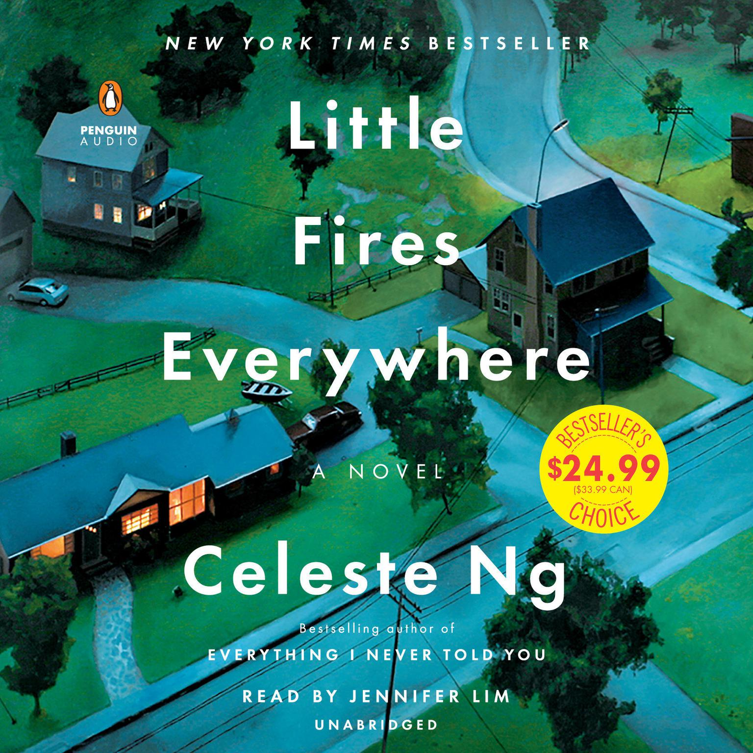 Printable Little Fires Everywhere Audiobook Cover Art