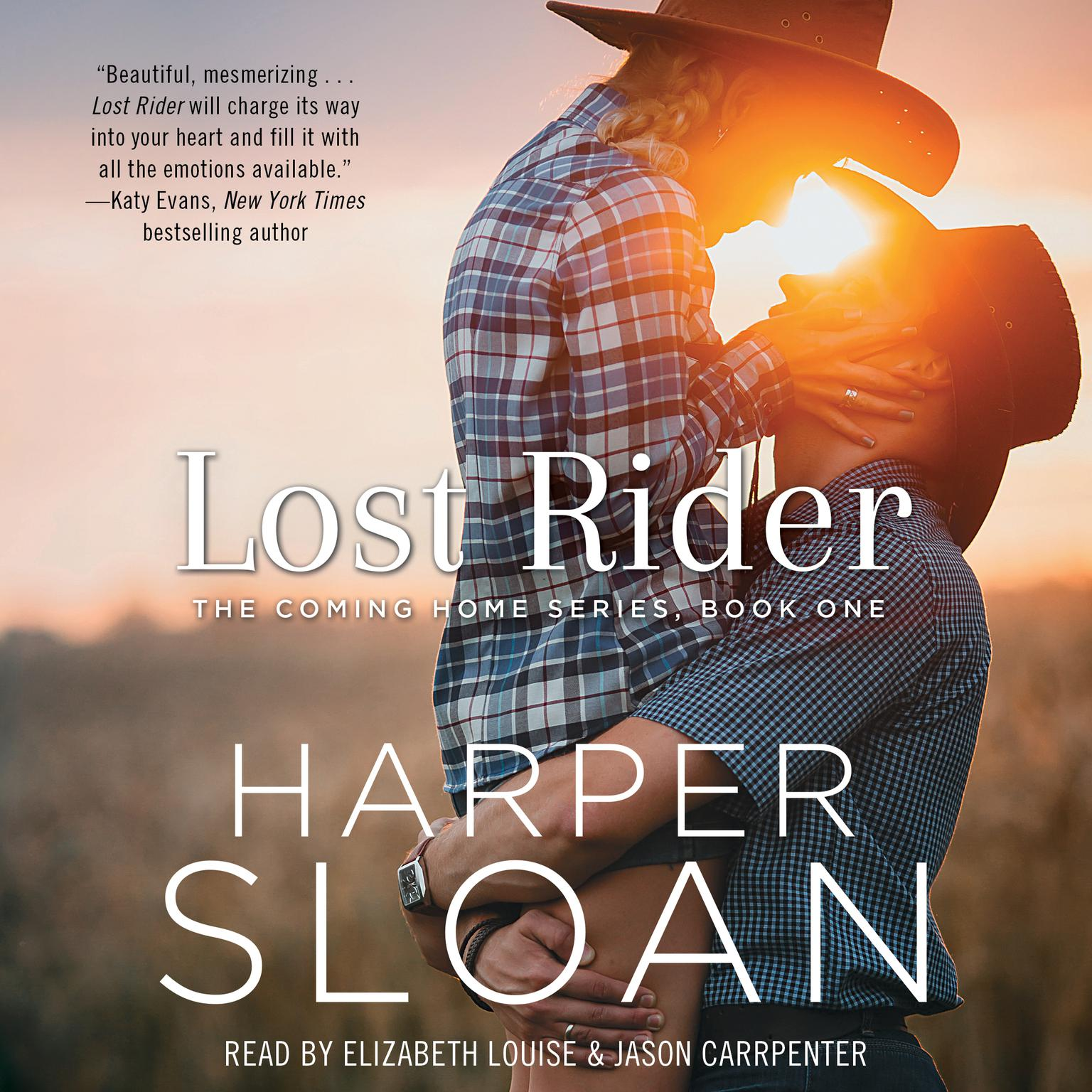 Printable Lost Rider Audiobook Cover Art