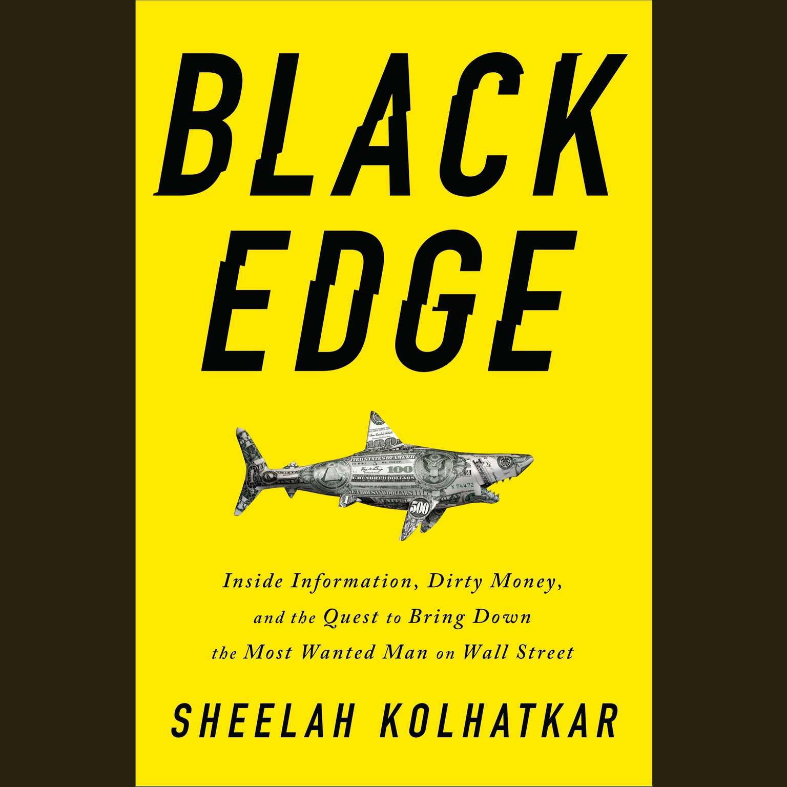 Printable Black Edge: Inside Information, Dirty Money, and the Quest to Bring Down the Most Wanted Man on Wall Street Audiobook Cover Art