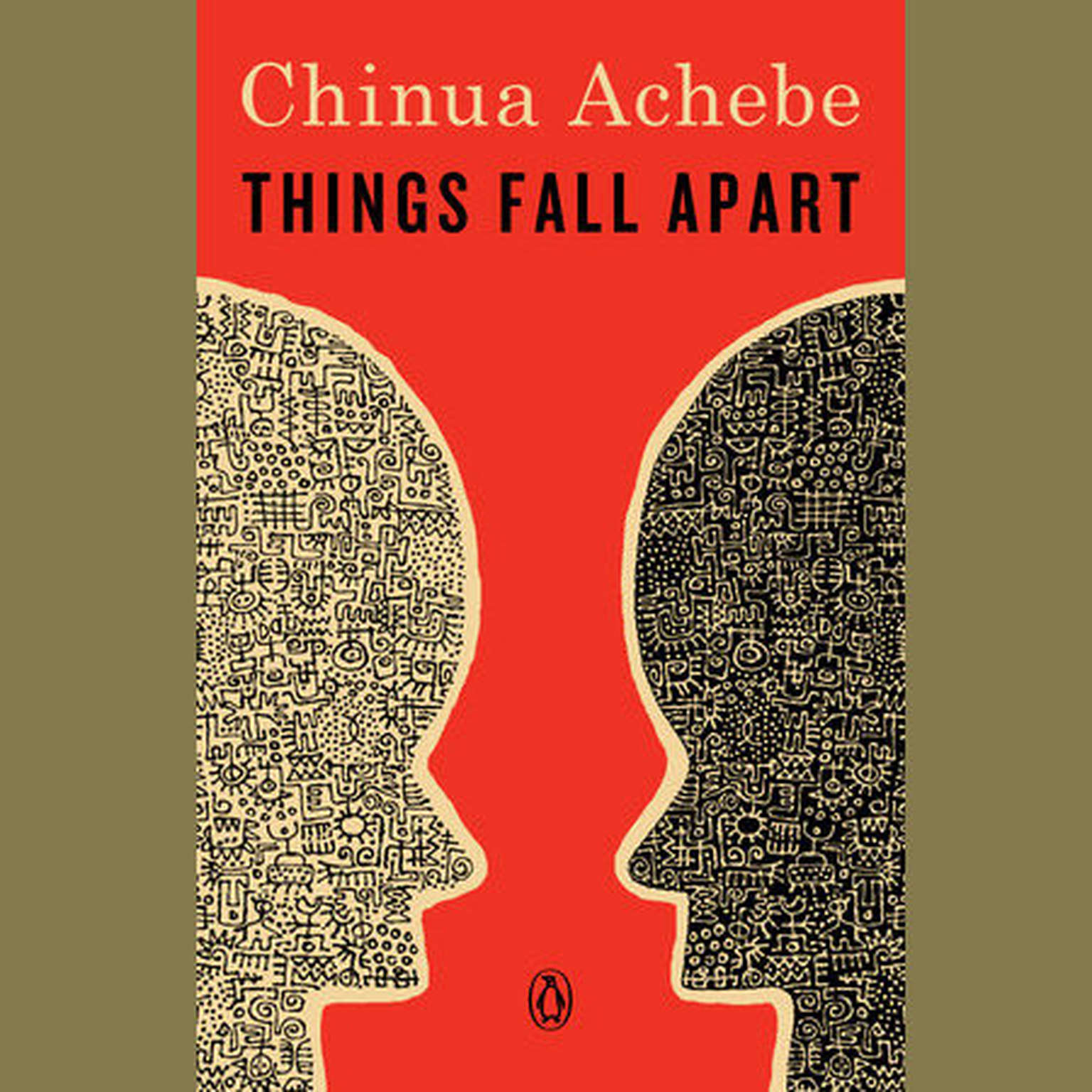 Printable Things Fall Apart: A Novel Audiobook Cover Art