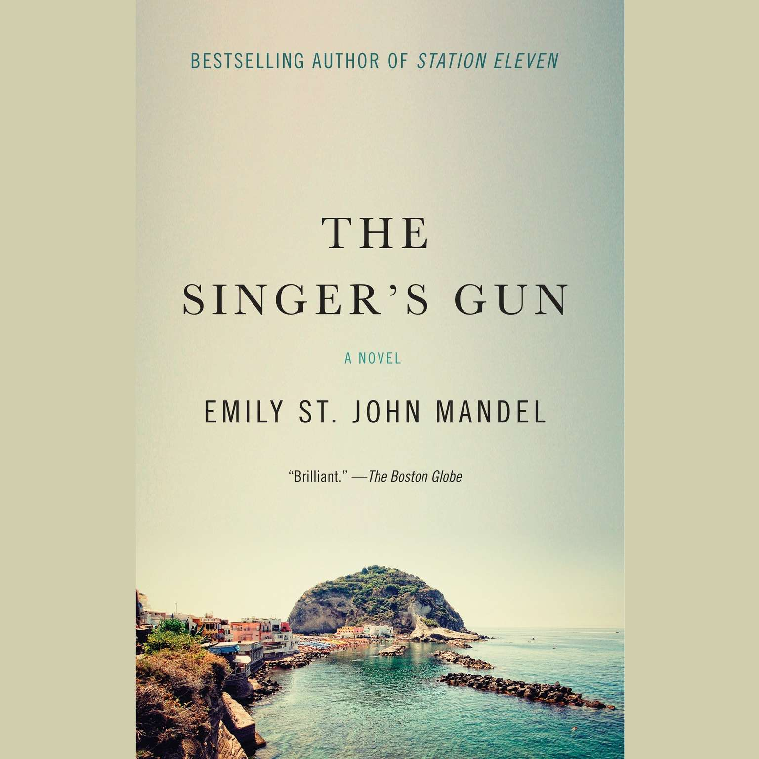 Printable The Singer's Gun Audiobook Cover Art