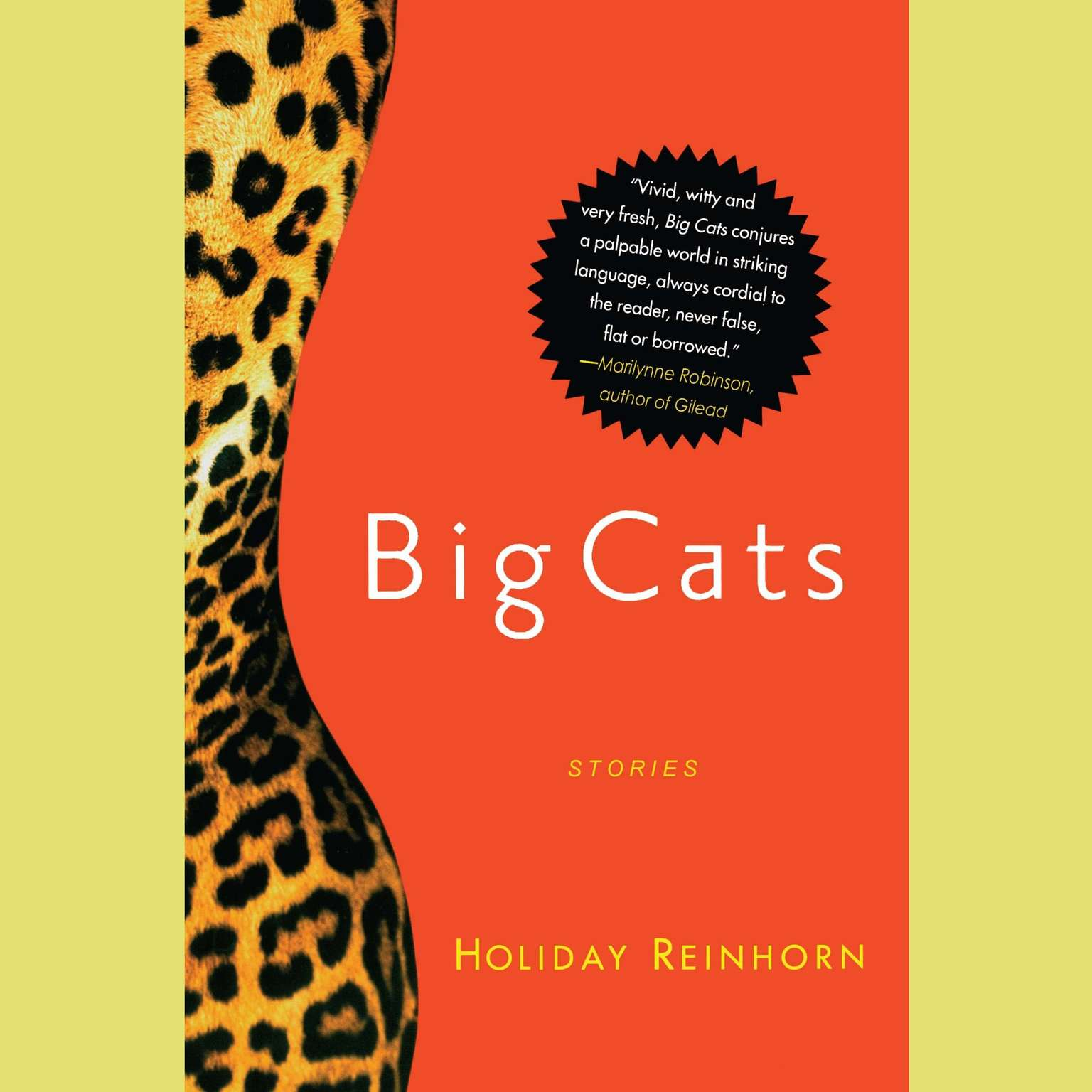 Printable Big Cats: Stories Audiobook Cover Art