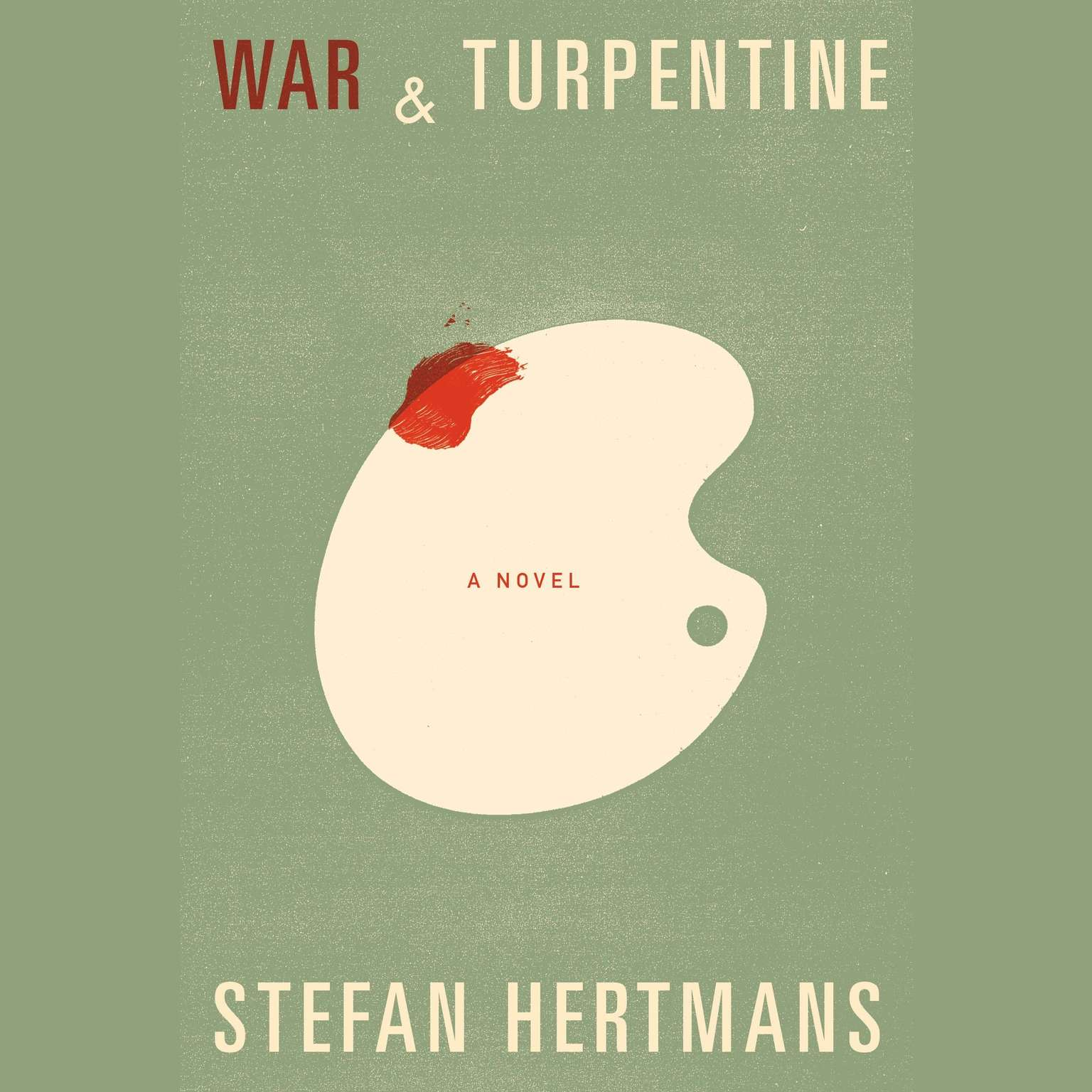 Printable War and Turpentine Audiobook Cover Art