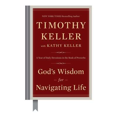 Gods Wisdom for Navigating Life: A Year of Daily Devotions in the Book of Proverbs Audiobook, by Timothy Keller