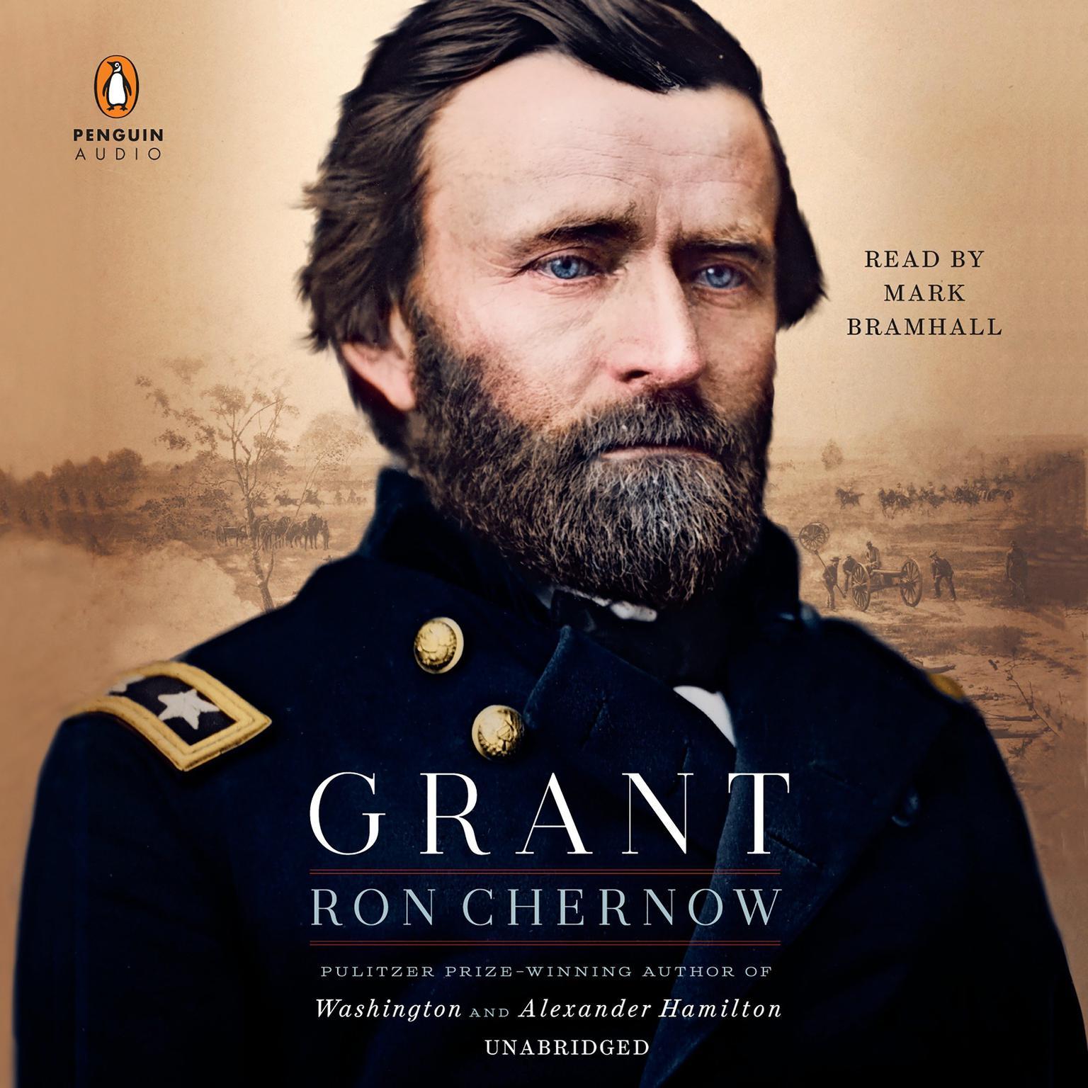 Printable Grant Audiobook Cover Art