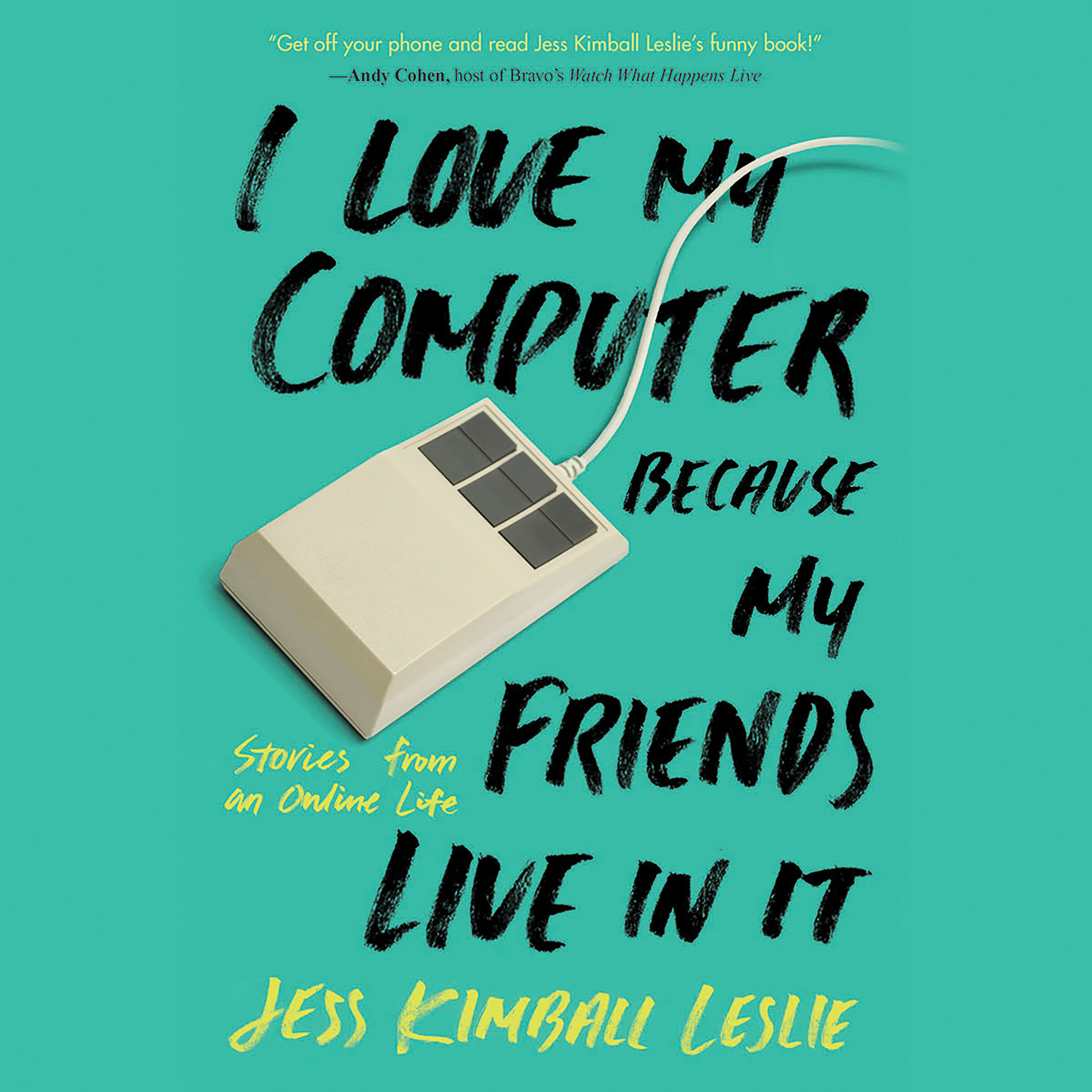 Printable I Love My Computer Because My Friends Live in It: Stories from an Online Life Audiobook Cover Art