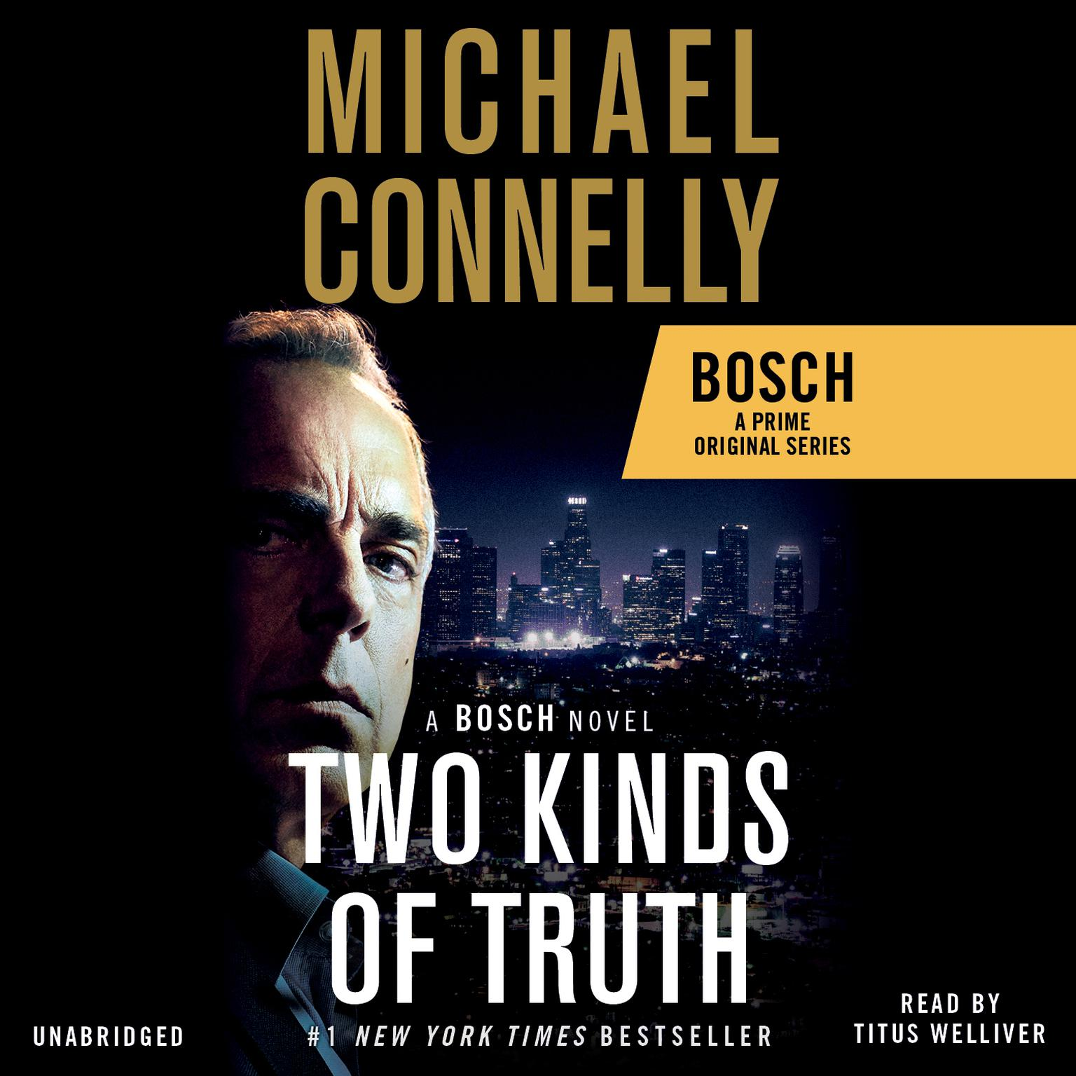 Printable Two Kinds of Truth Audiobook Cover Art