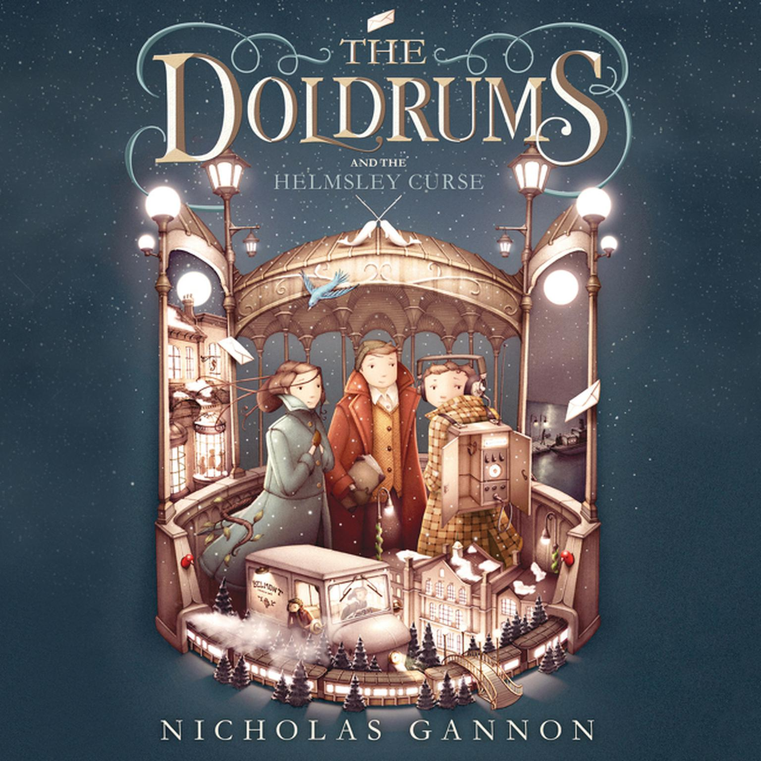Printable The Doldrums and the Helmsley Curse Audiobook Cover Art