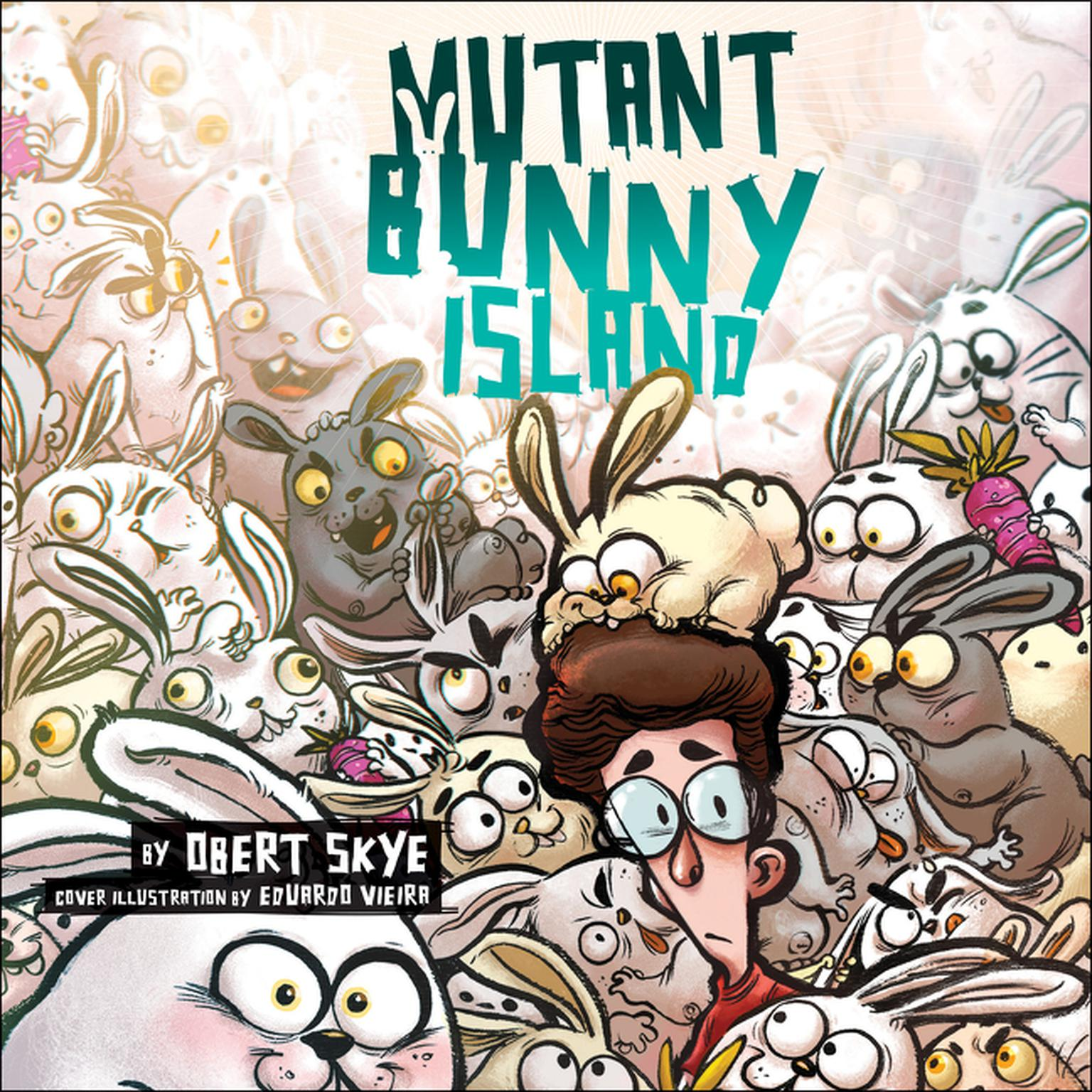 Printable Mutant Bunny Island Audiobook Cover Art