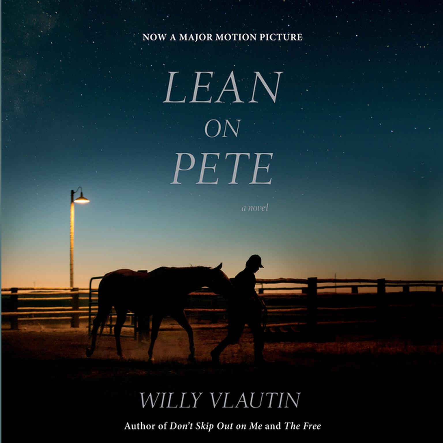 Printable Lean on Pete movie tie-in: A Novel Audiobook Cover Art