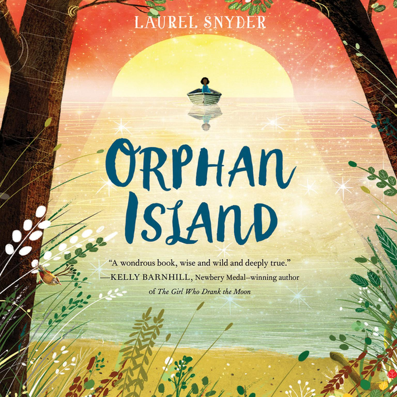 Printable Orphan Island Audiobook Cover Art