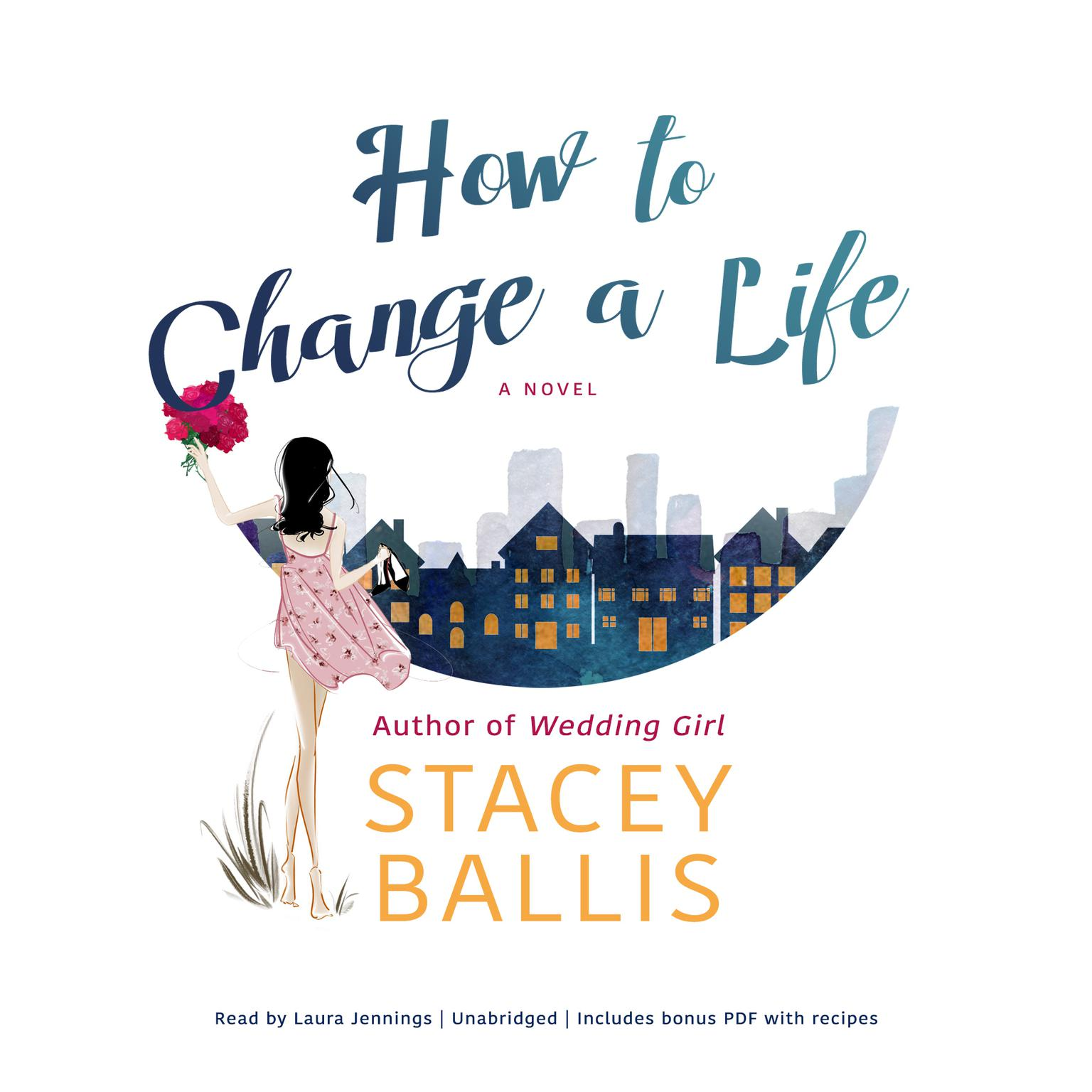 Printable How to Change a Life Audiobook Cover Art