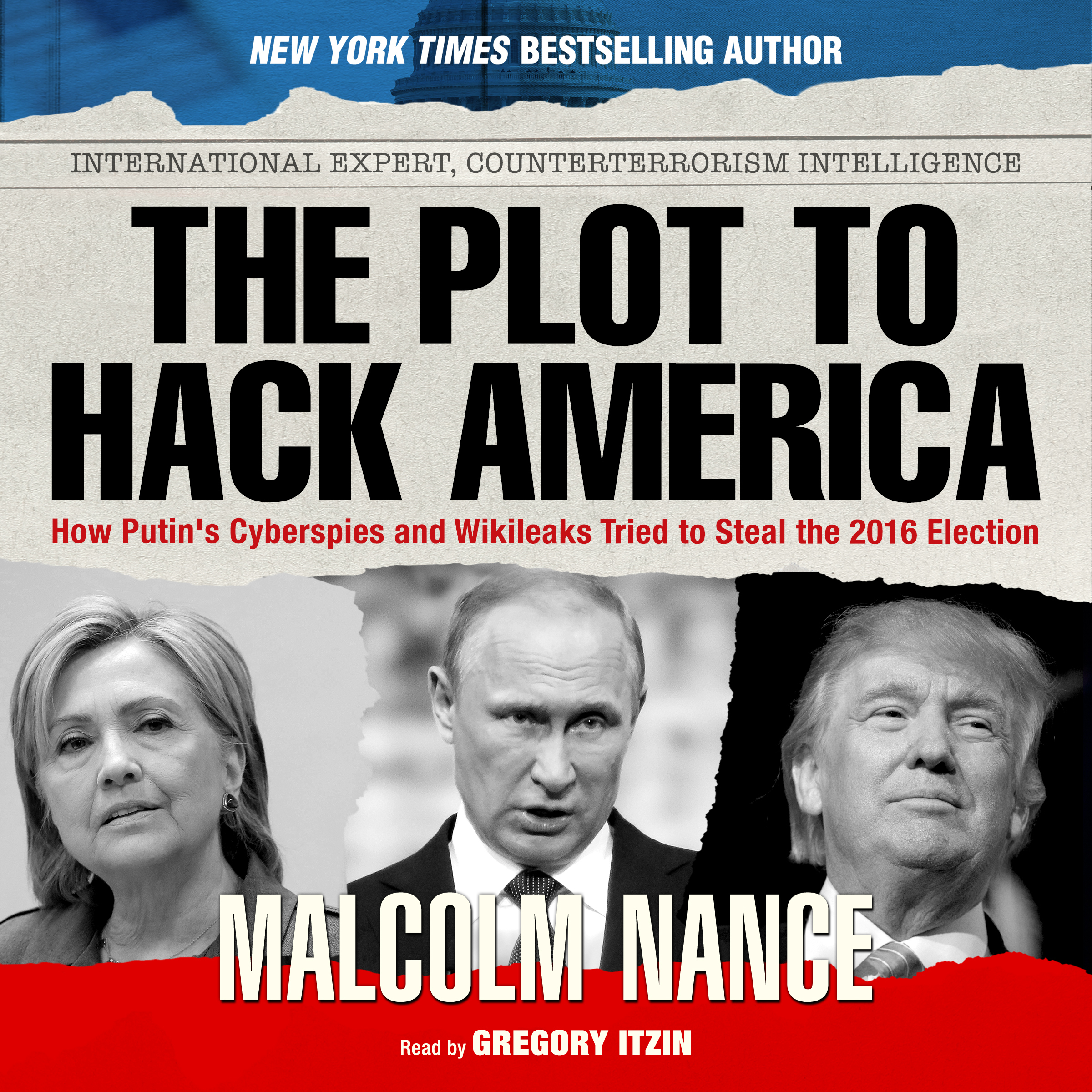 Printable The Plot to Hack America Audiobook Cover Art