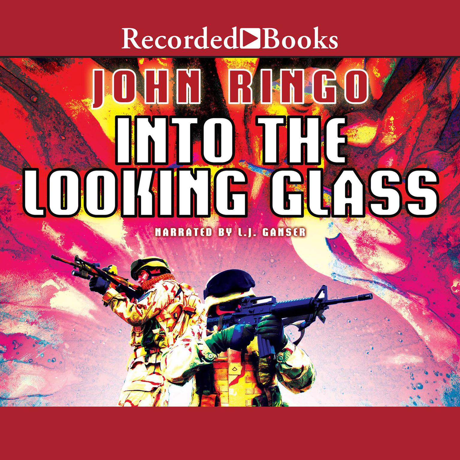 Printable Into the Looking Glass Audiobook Cover Art