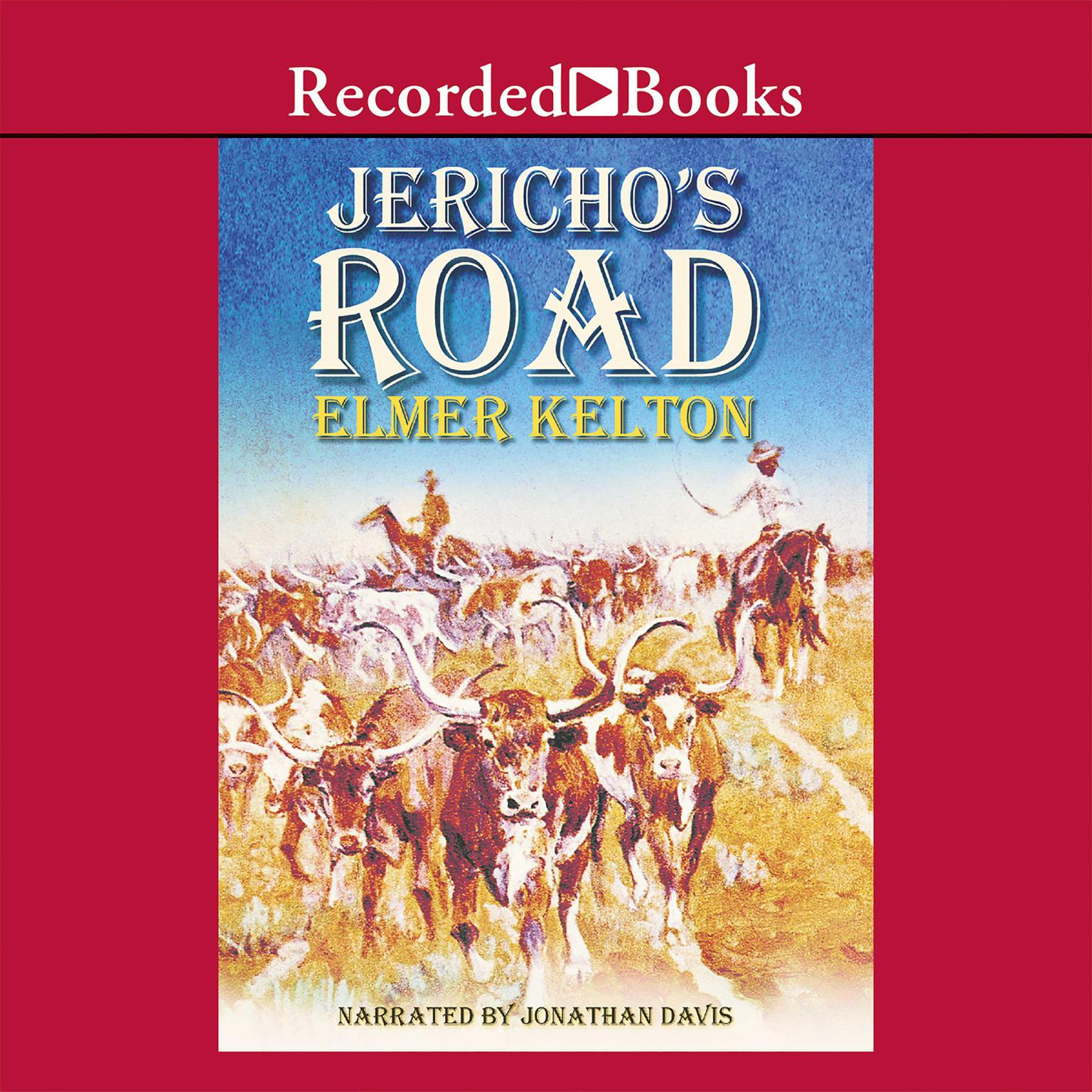 Printable Jericho's Road Audiobook Cover Art