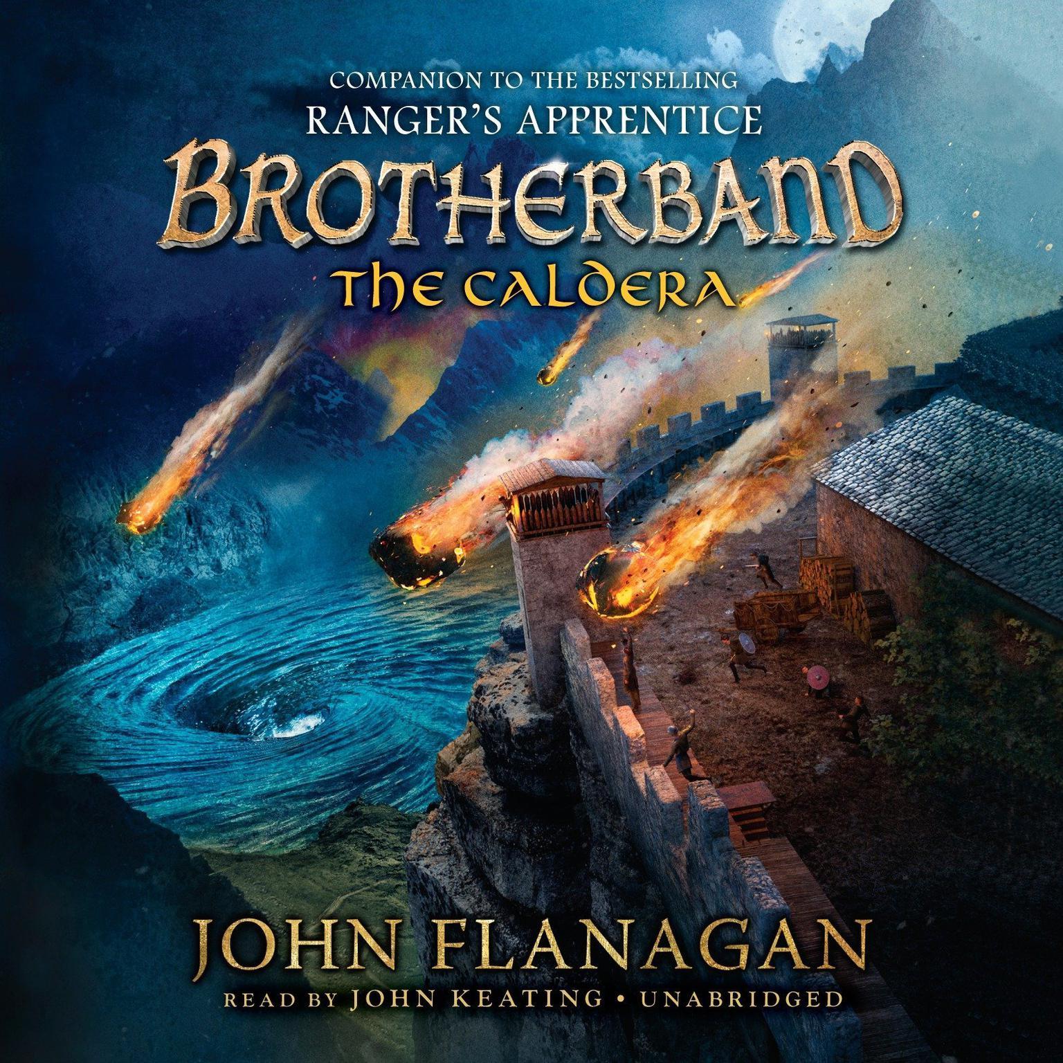 The Caldera Audiobook, by John A. Flanagan