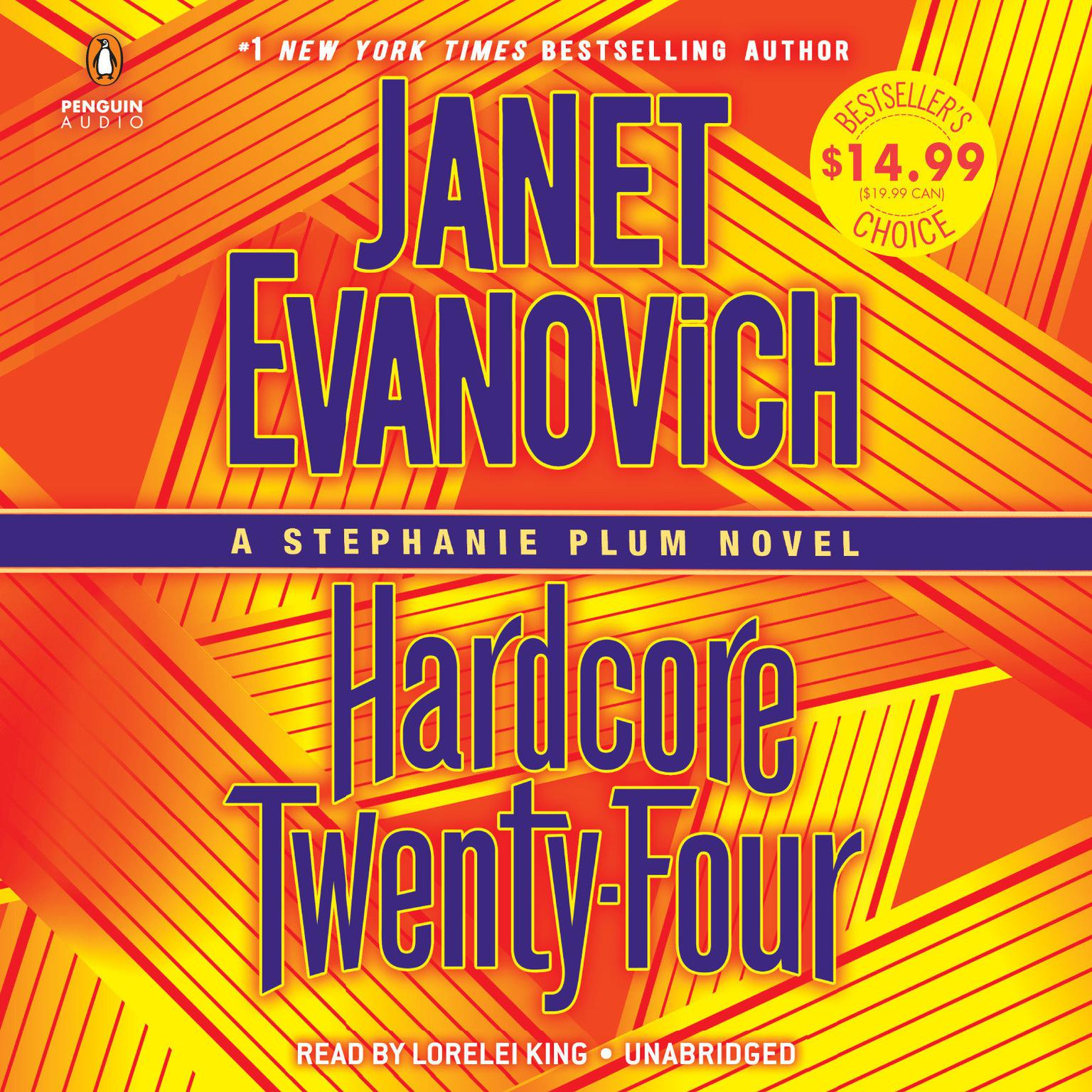 Printable Hardcore Twenty-Four: A Stephanie Plum Novel Audiobook Cover Art