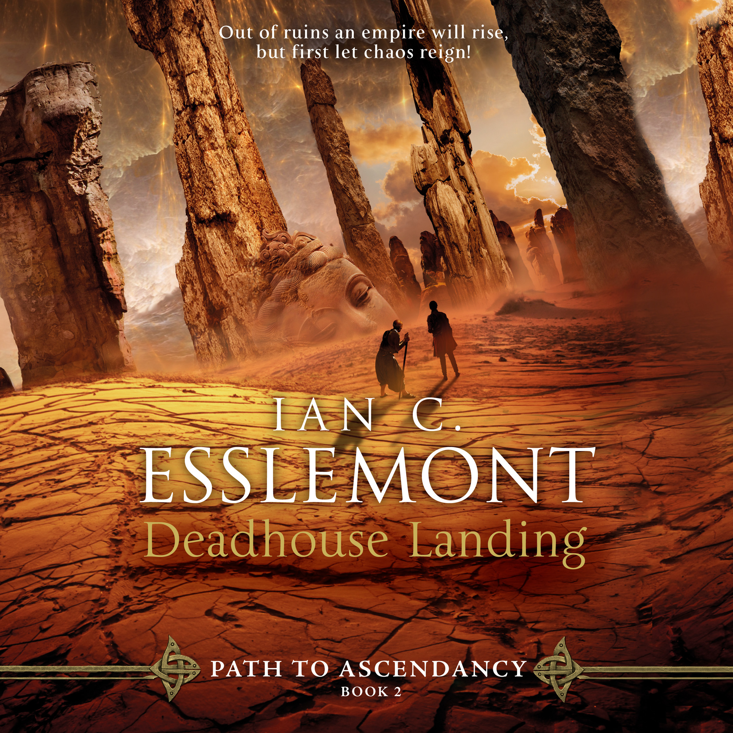 Printable Deadhouse Landing: A Novel of the Malazan Empire Audiobook Cover Art