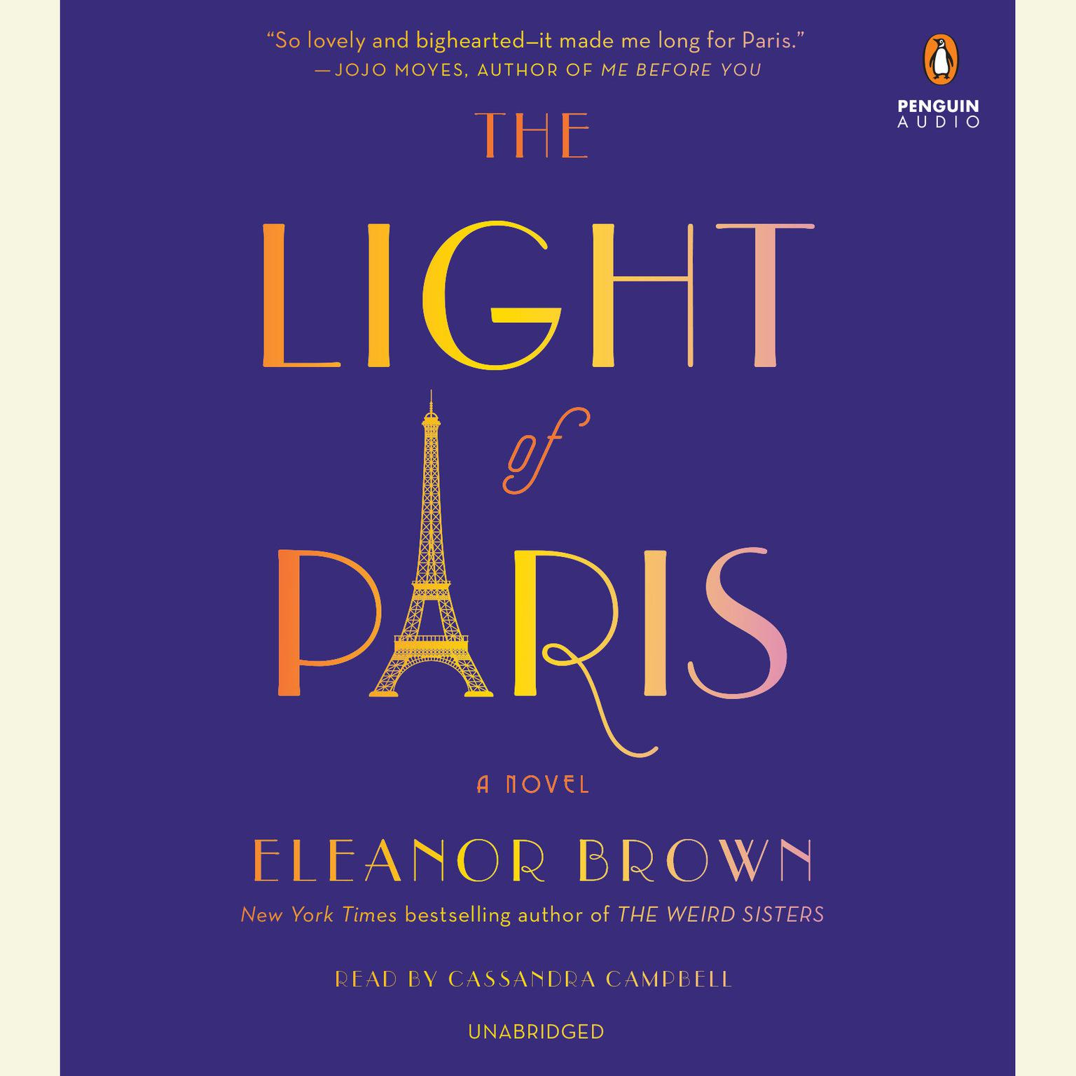 Printable The Light of Paris Audiobook Cover Art