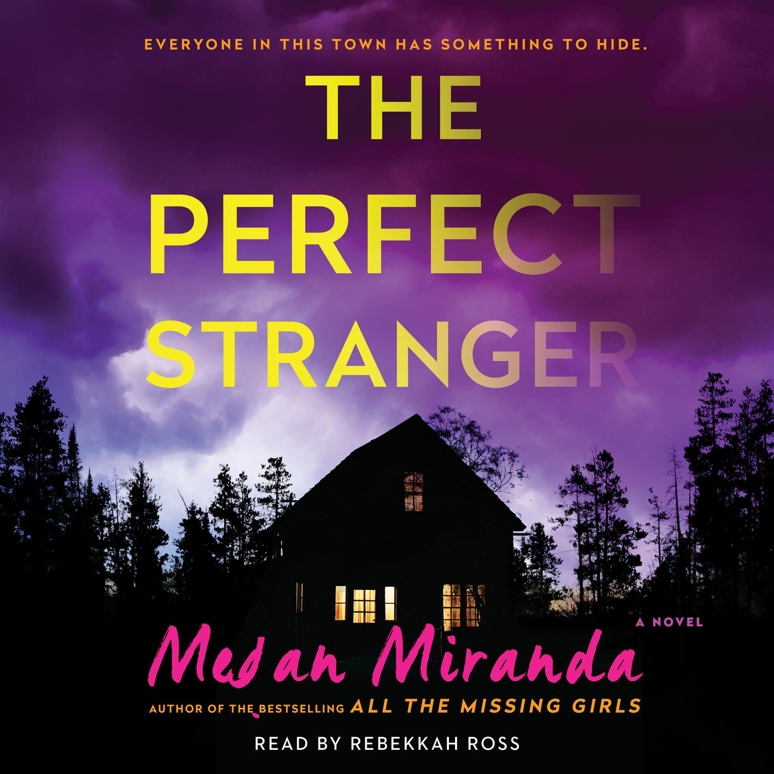 Printable The Perfect Stranger: A Novel Audiobook Cover Art