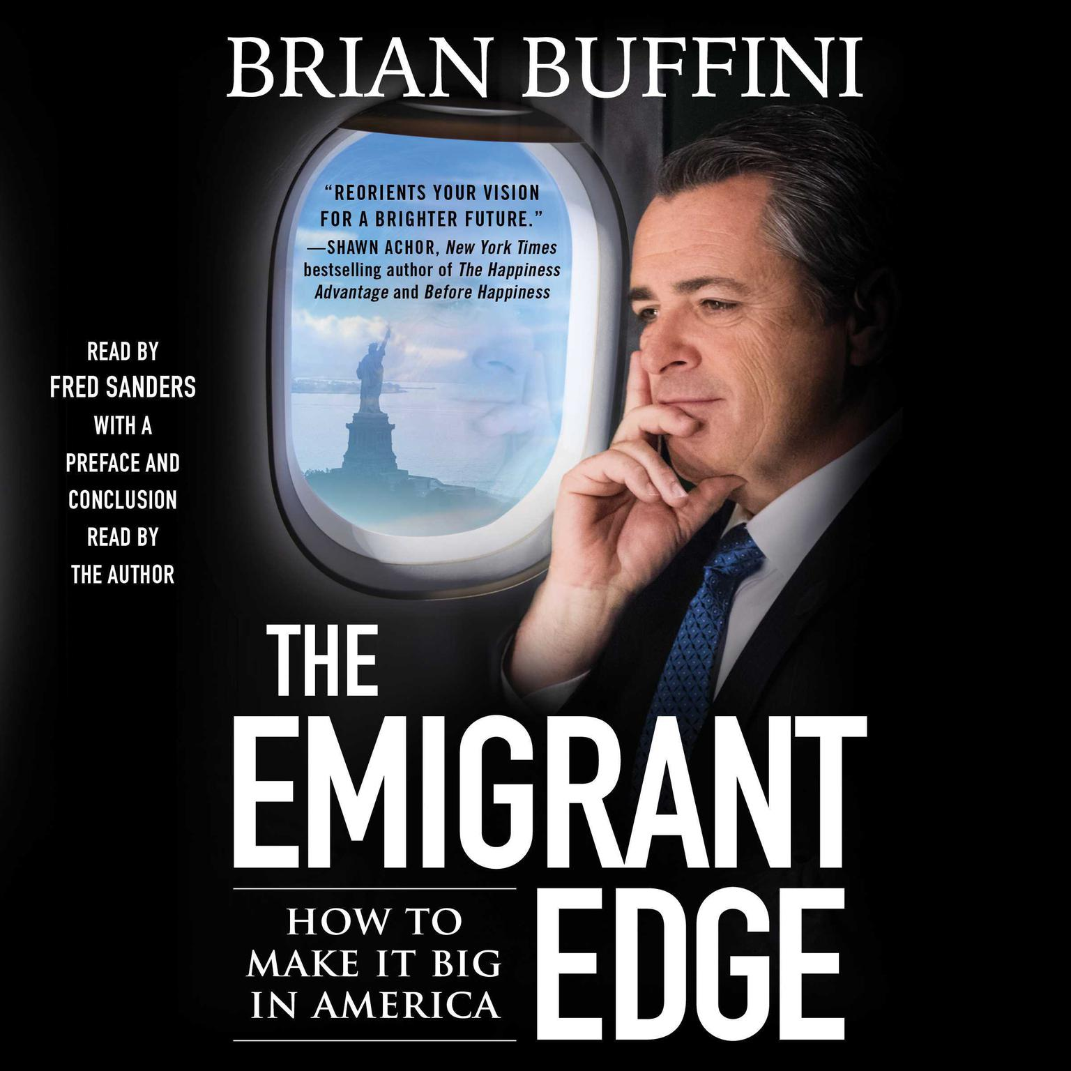 Printable The Emigrant Edge: How to Make It Big in America Audiobook Cover Art