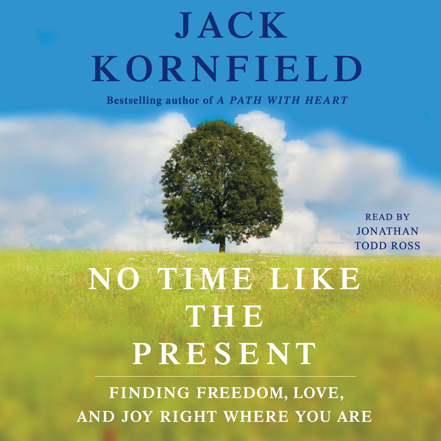 Printable No Time Like the Present: Finding Freedom, Love, and Joy Right Where You Are Audiobook Cover Art