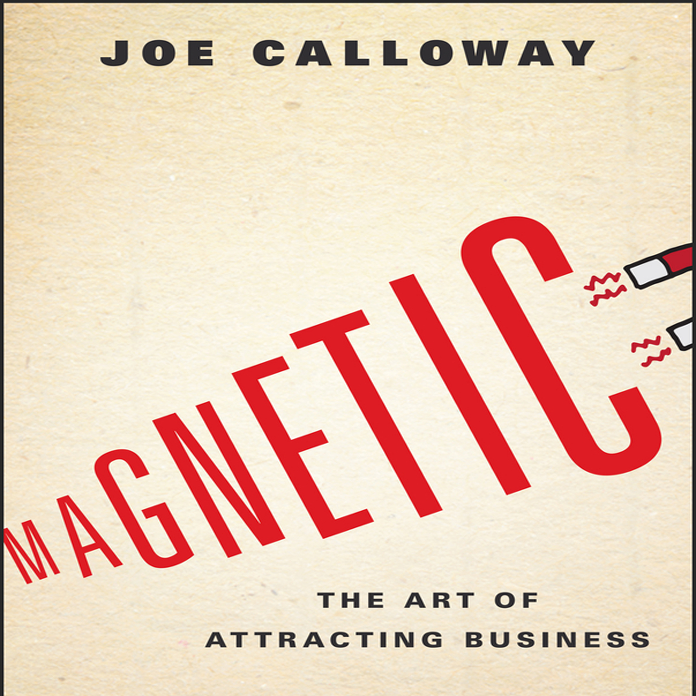 Printable Magnetic: The Art of Attracting Business Audiobook Cover Art