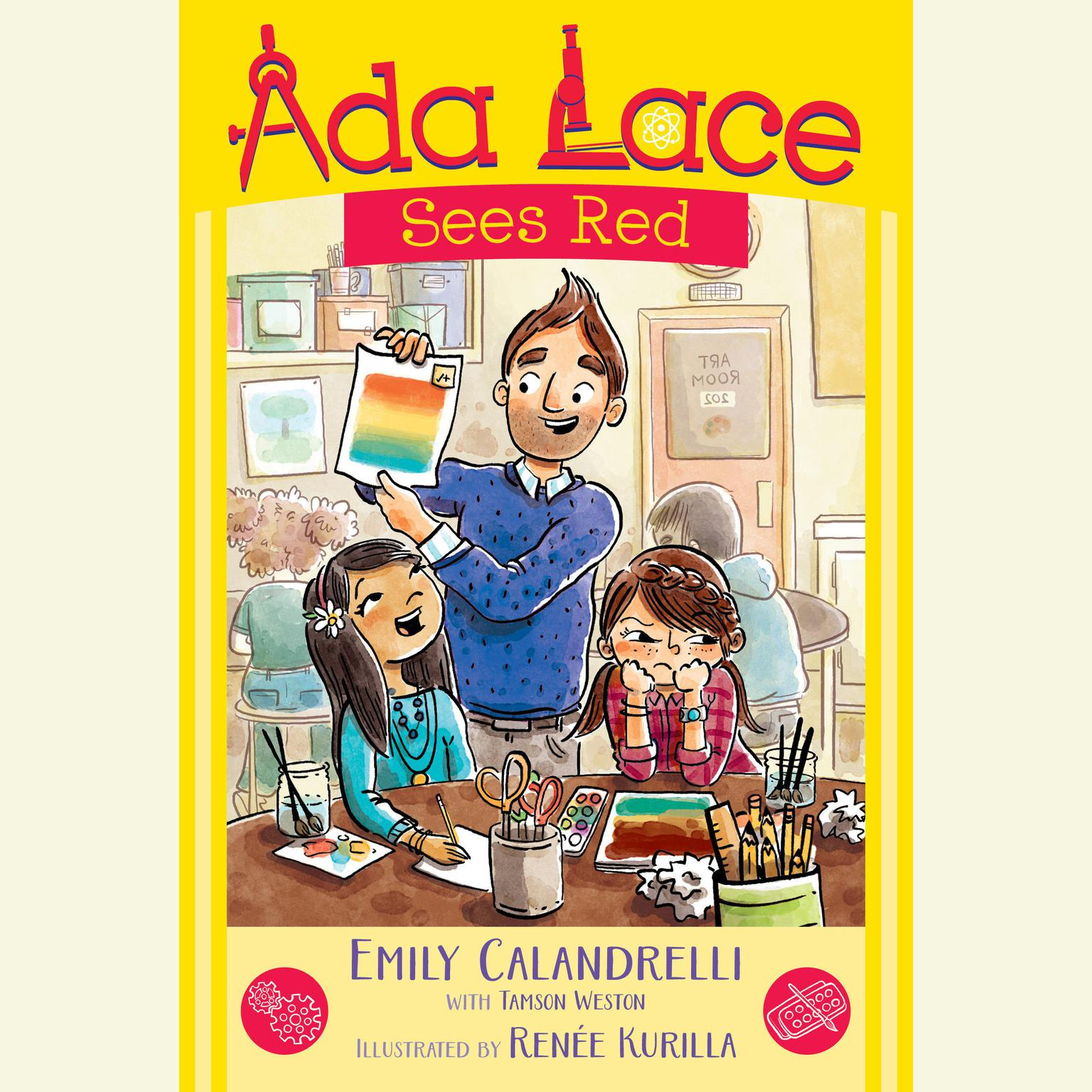 Printable Ada Lace Sees Red Audiobook Cover Art