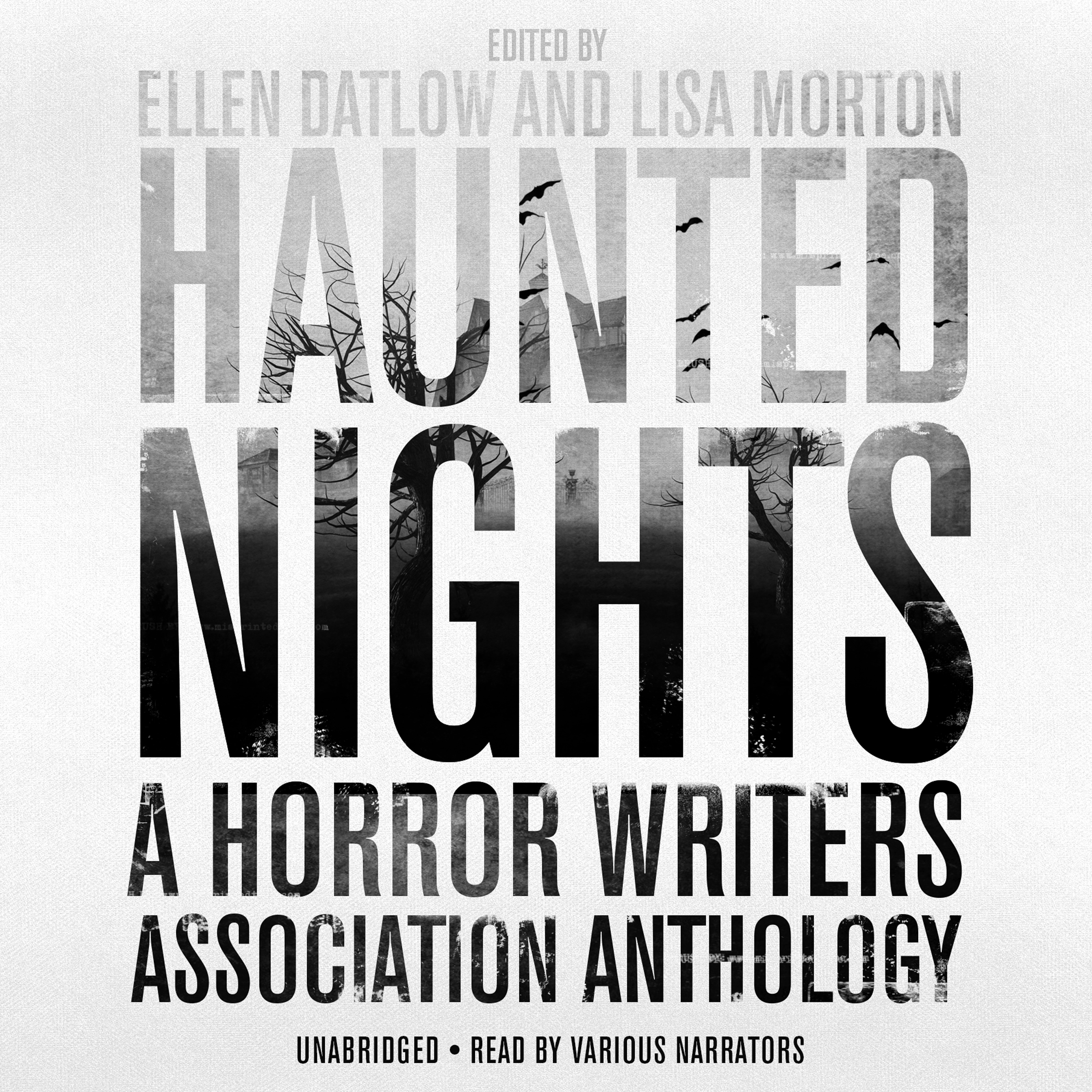 Printable Haunted Nights: A Horror Writers Association Anthology Audiobook Cover Art
