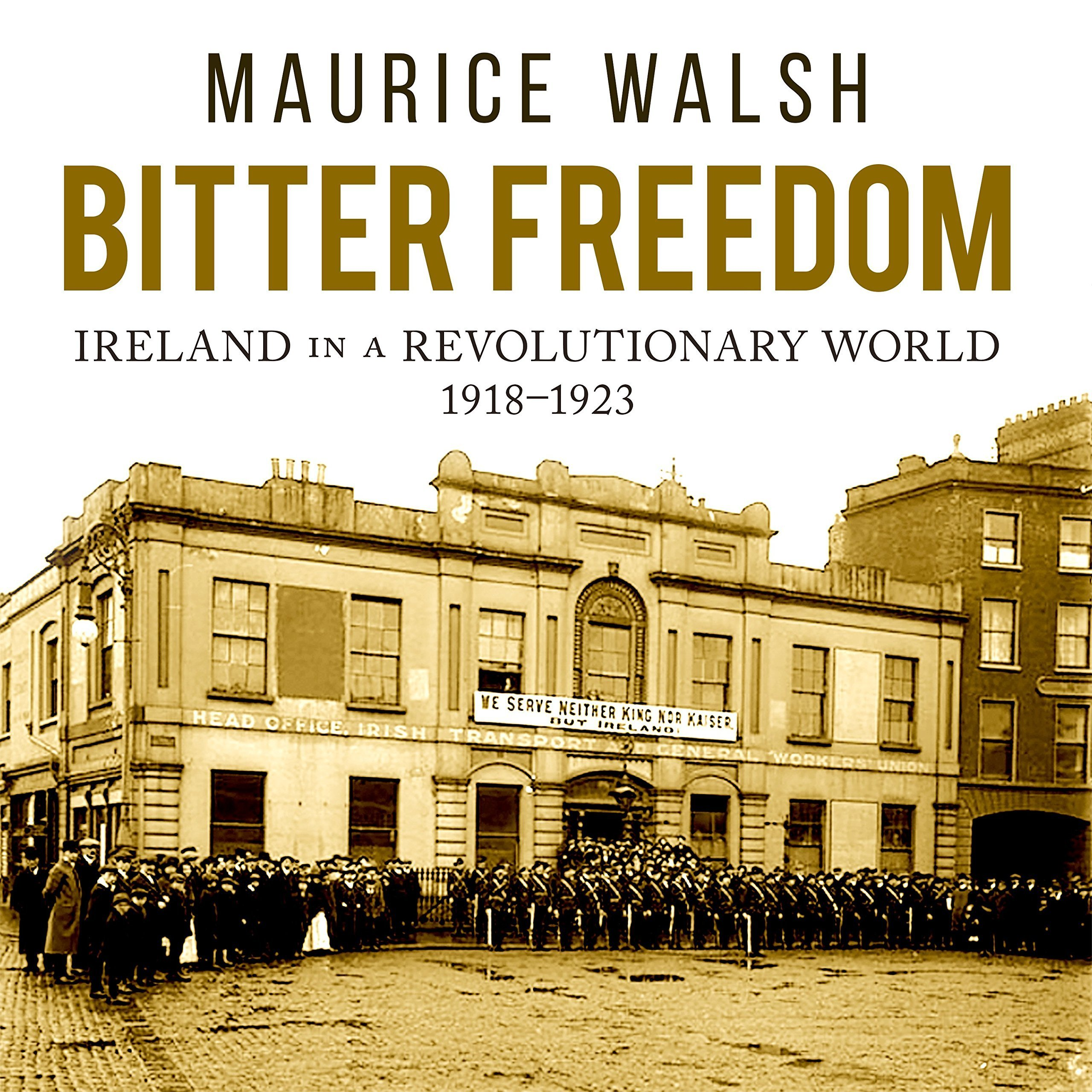 Printable Bitter Freedom: Ireland in a Revolutionary World Audiobook Cover Art