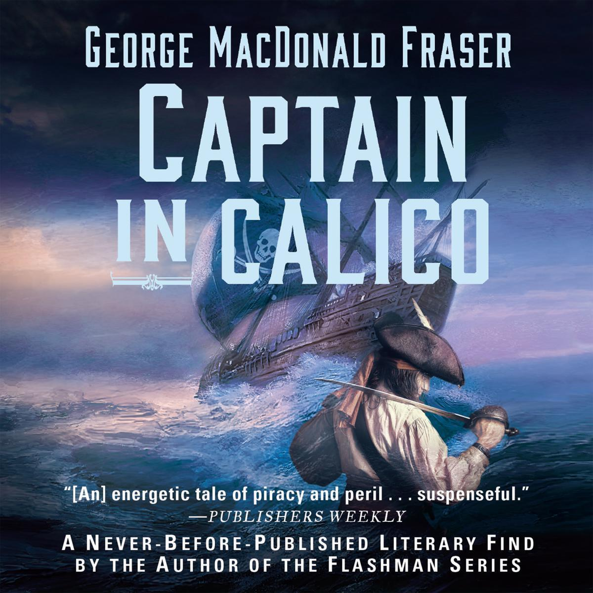 Printable Captain in Calico Audiobook Cover Art