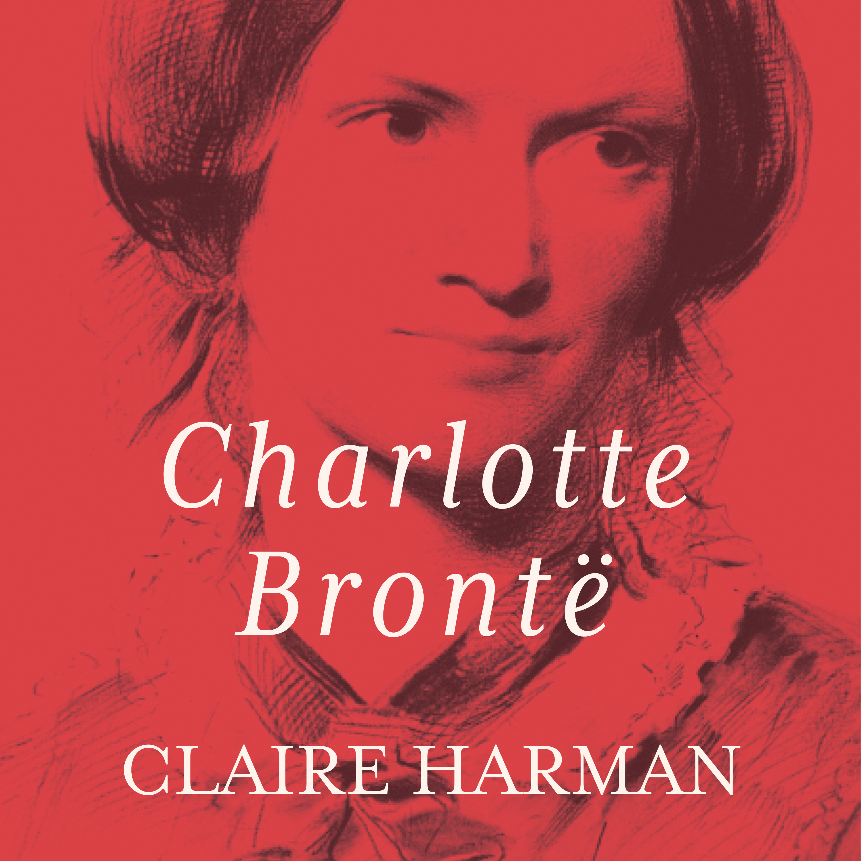 Printable Charlotte Bronte: A Fiery Heart Audiobook Cover Art