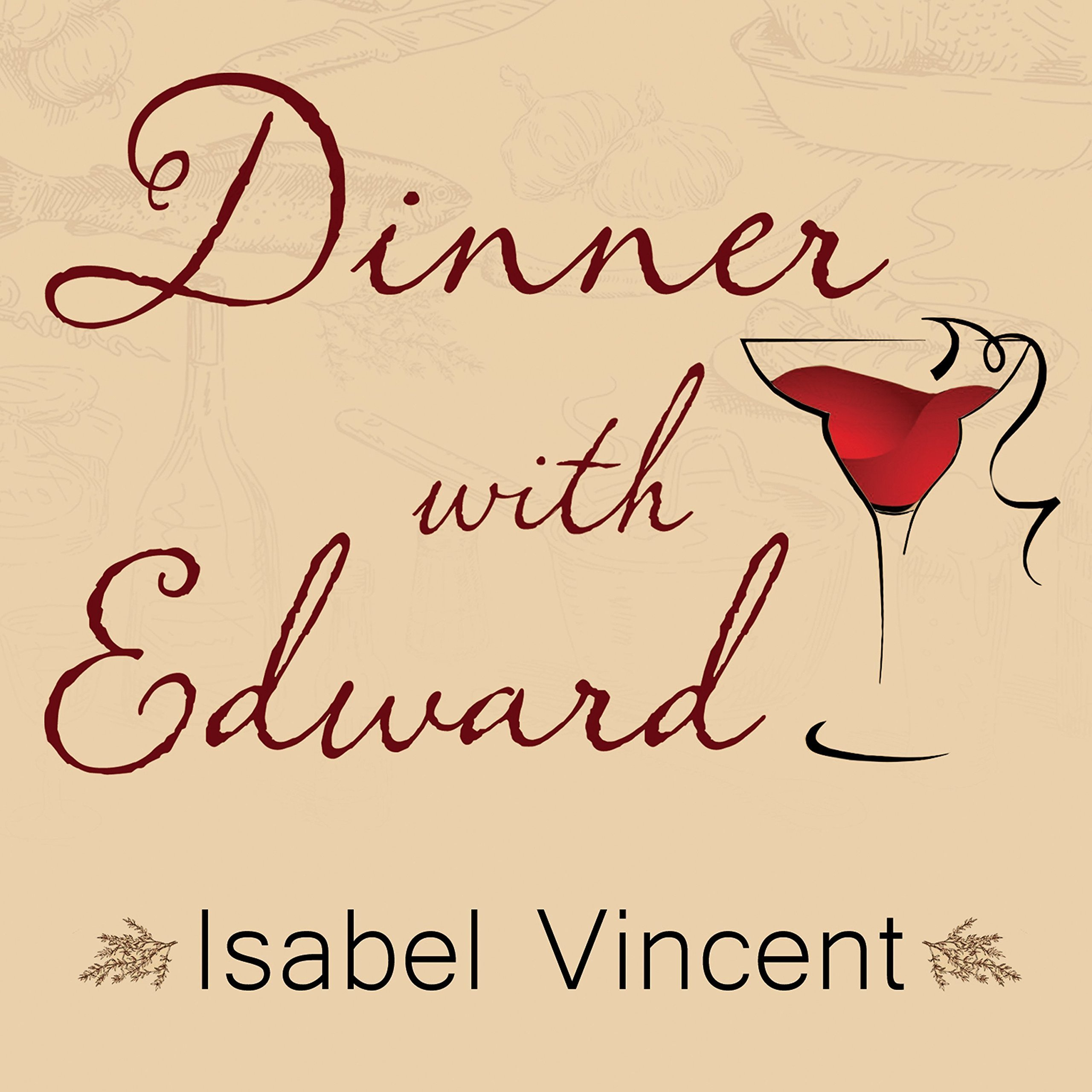 Printable Dinner with Edward Audiobook Cover Art