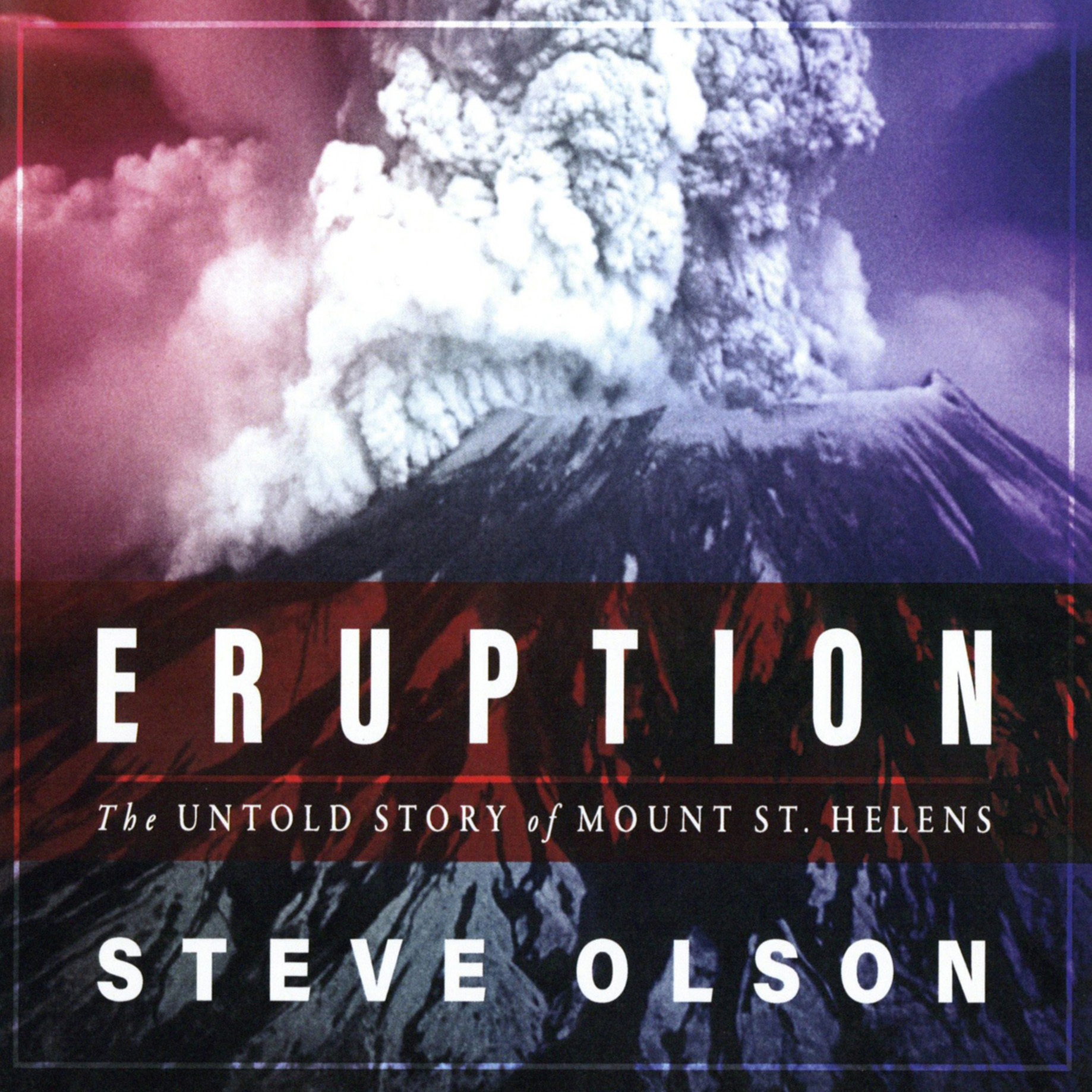 Printable Eruption: The Untold Story of Mount St. Helens Audiobook Cover Art